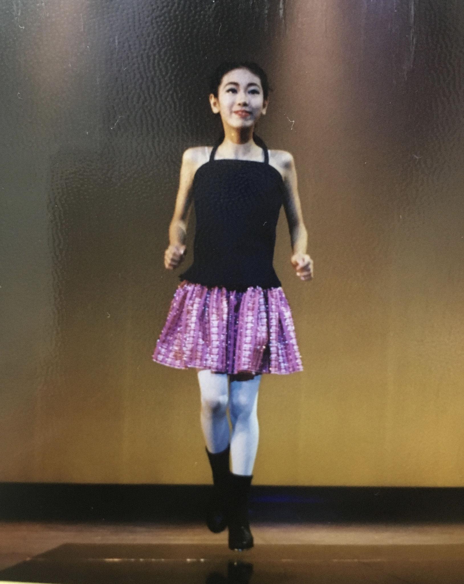 あやこ12歳ー母にタップダンスを習う