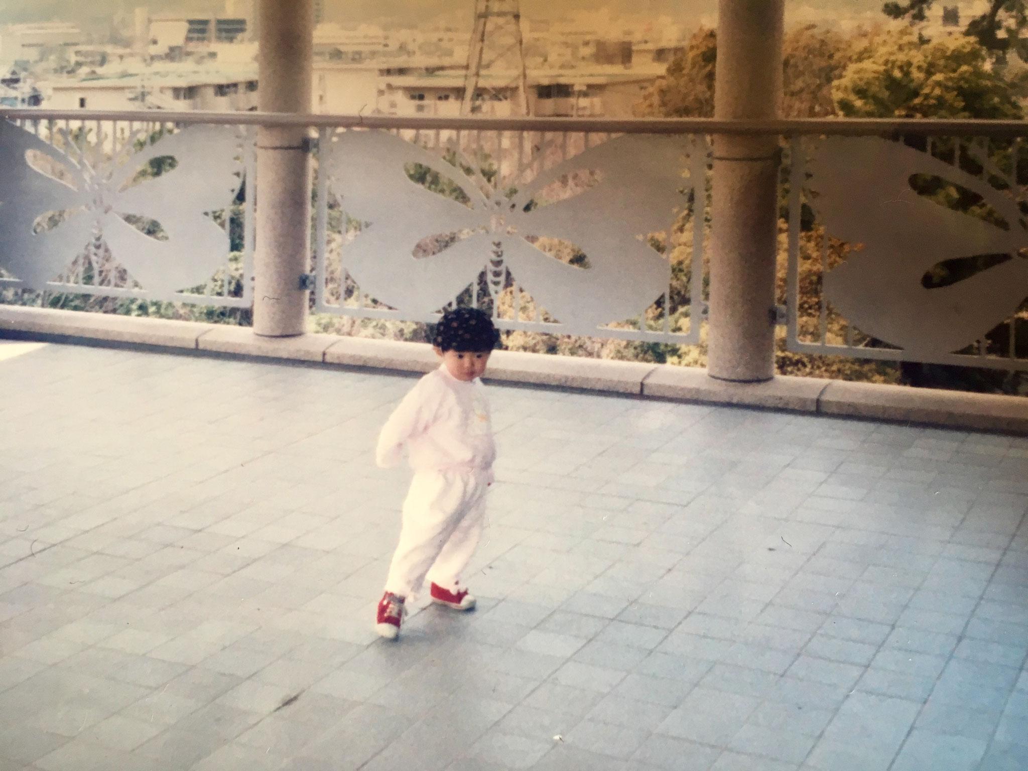 あやこ 1歳ー踊りはじめ