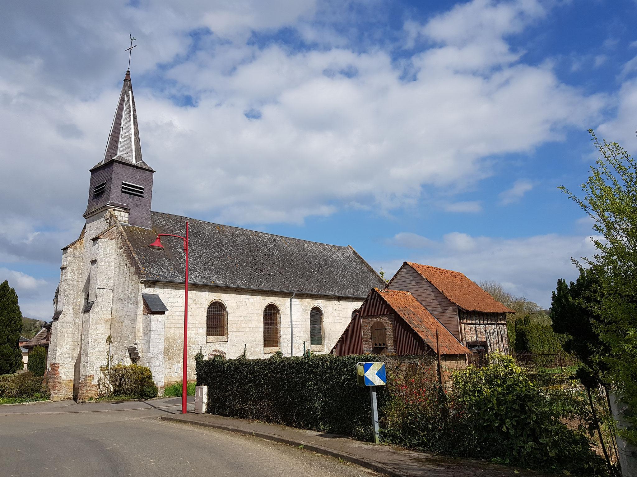 L'église de Mézerolles