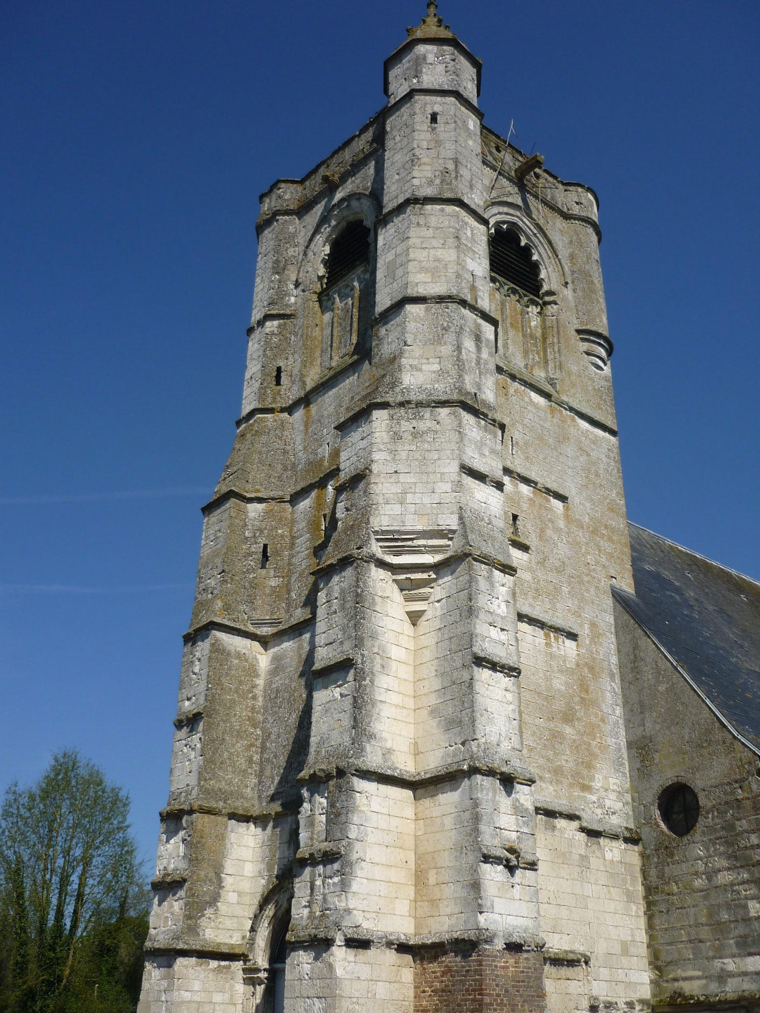 L'église de Berneuil