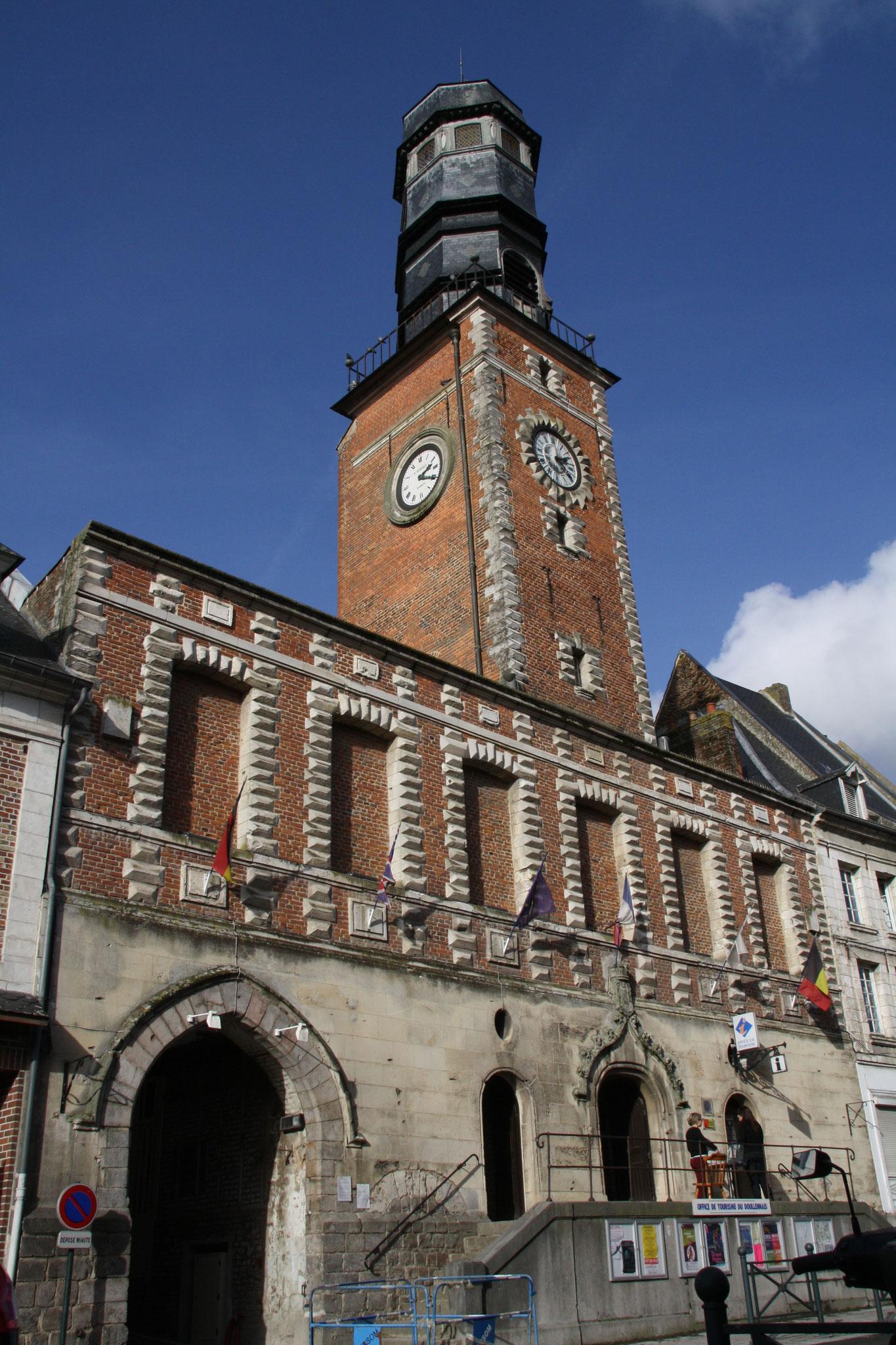 Beffroi de Doullens - labellisé UNESCO