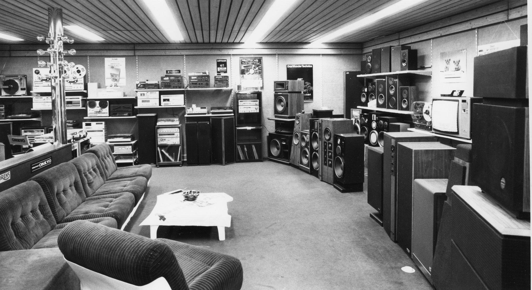 p.p.studio-Gillé bei der Eröffnung am 20.2.1976 /Ludwigsburg