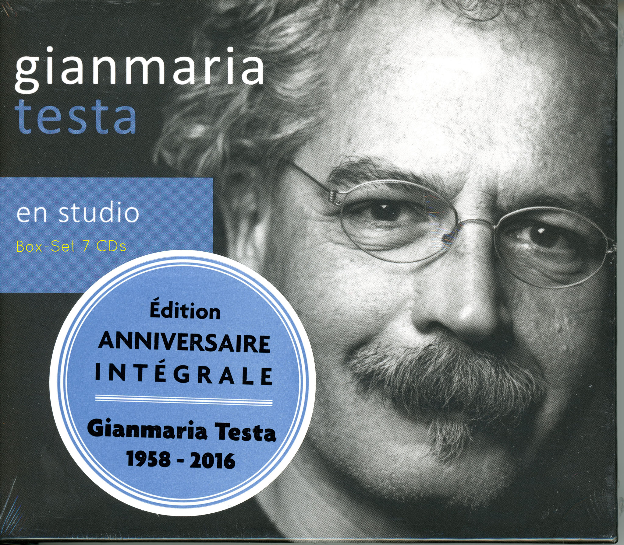 "Gianmaria Testa ""en studio"" 7 CDs (mit Livret 200 Pages)"