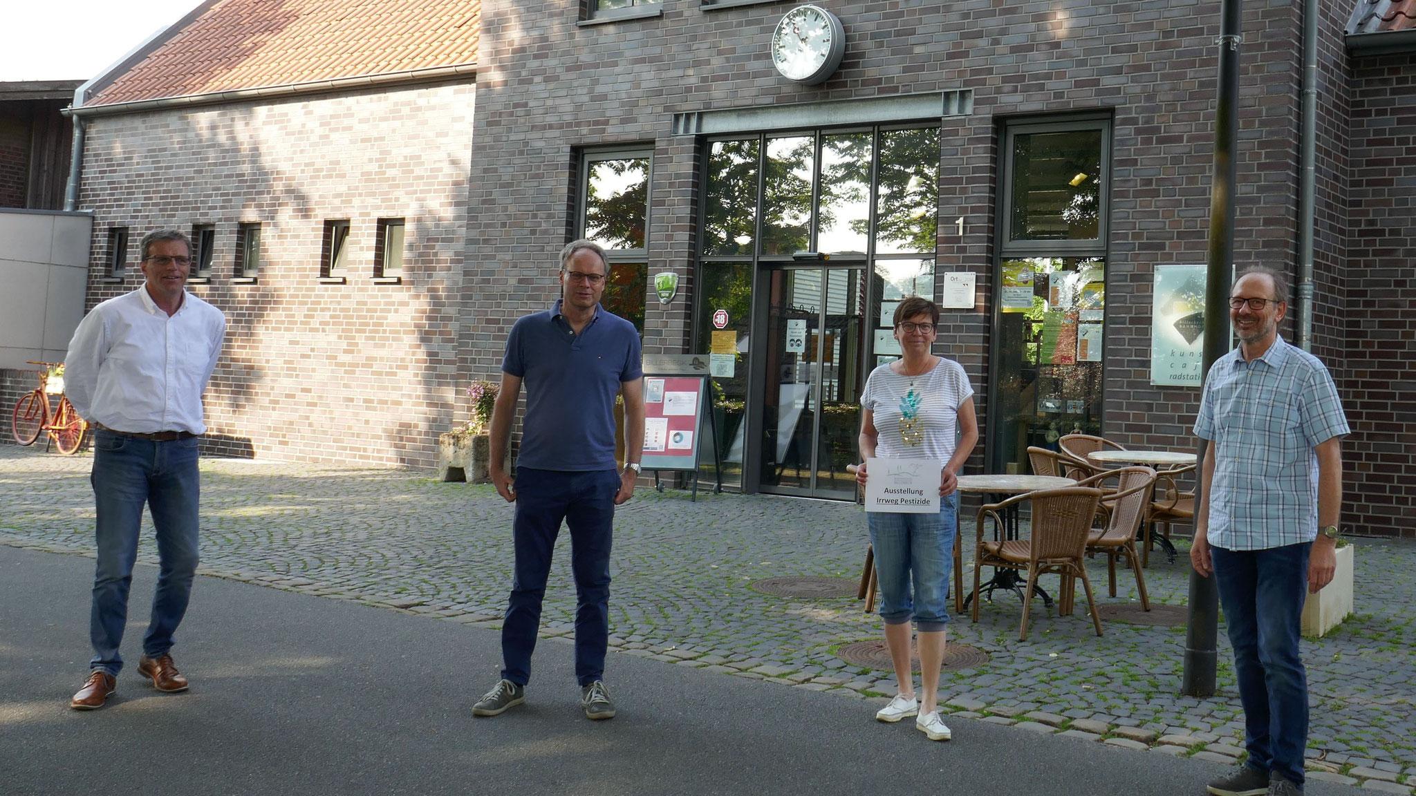 Die Organisatoren der Ausstellung (Foto: BI Billerbeck)