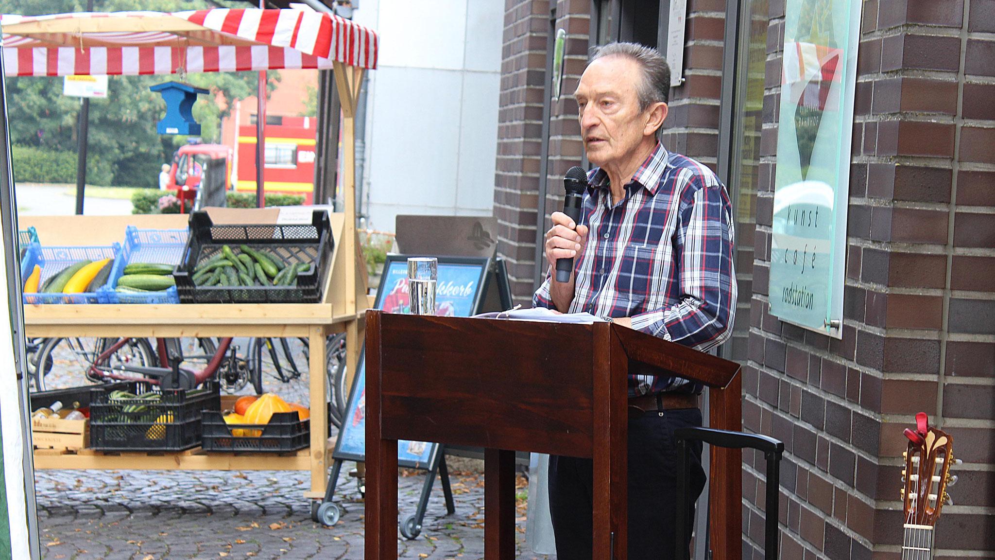 Eindrücke von der Ausstellungseröffnung (Foto: BI Billerbeck)
