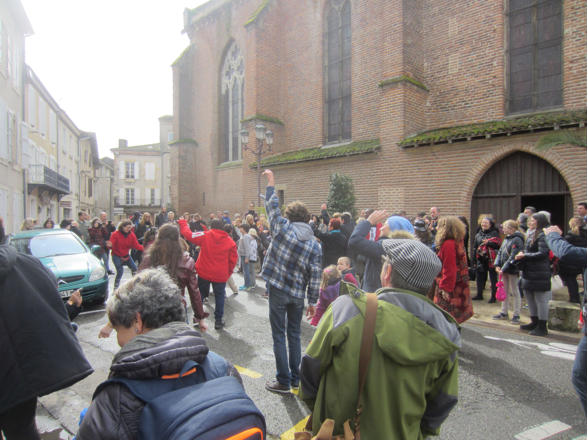 flashmob aux Jacobins