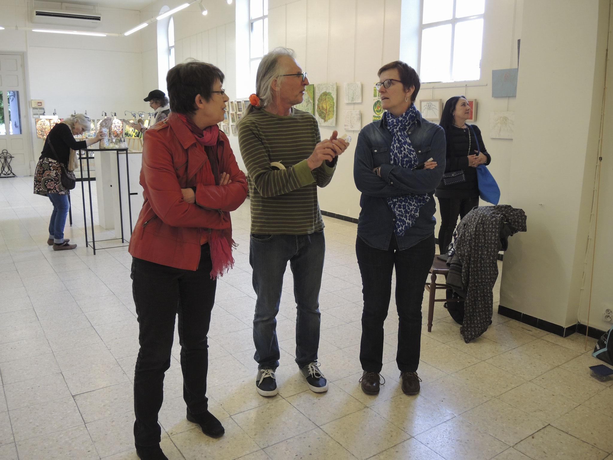 Josiane Torman, Jean-Paul Matifat, Cécile Dremière