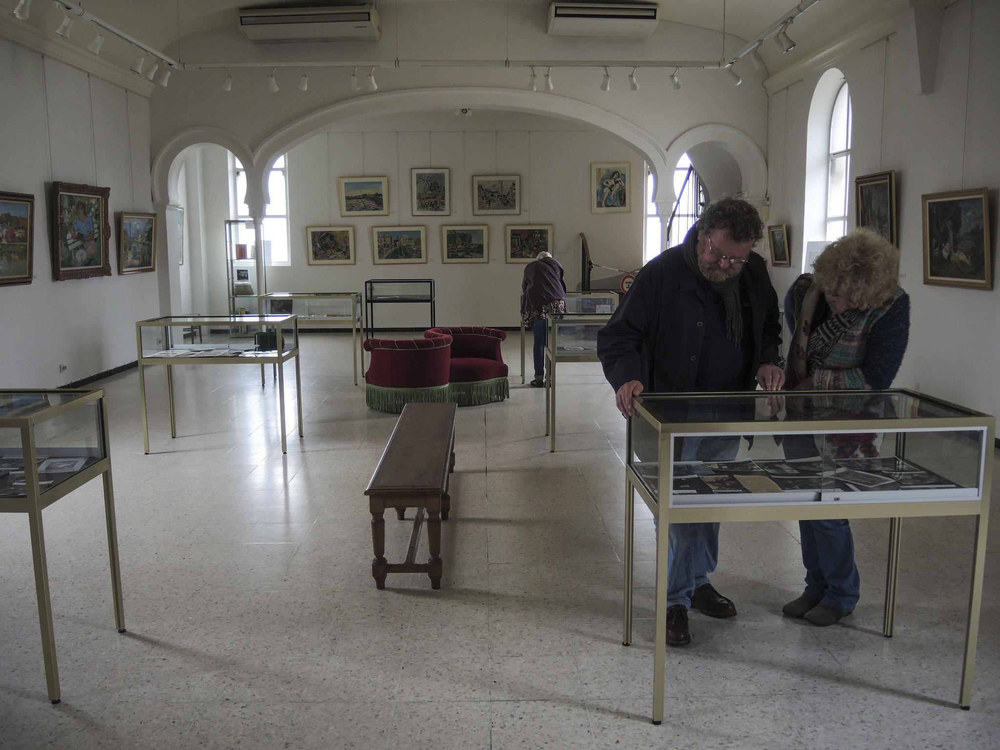 Musée André Planson au 1er étage
