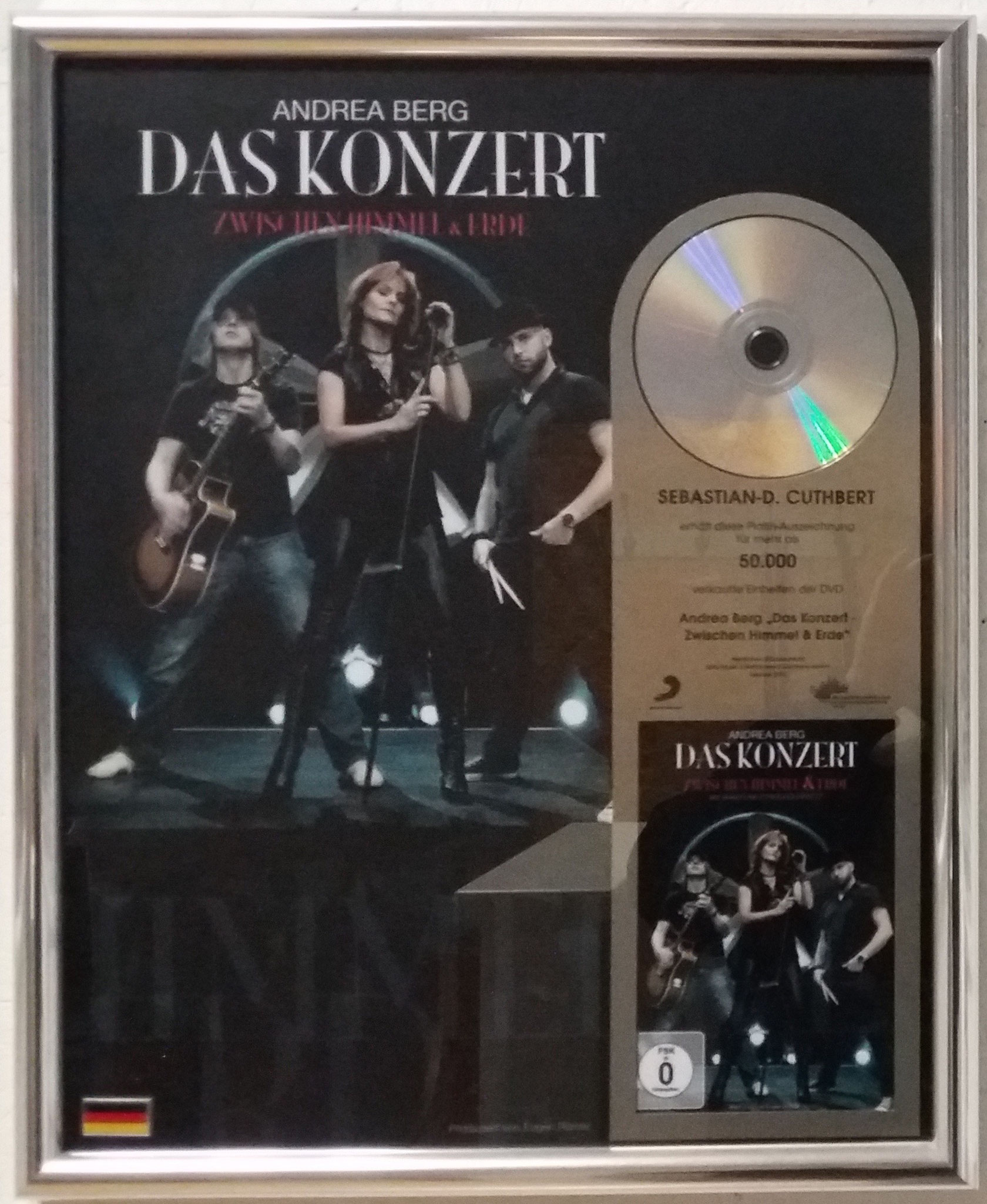 Andrea Berg LIVE DVD (Drums: Sebastian Cuthbert)