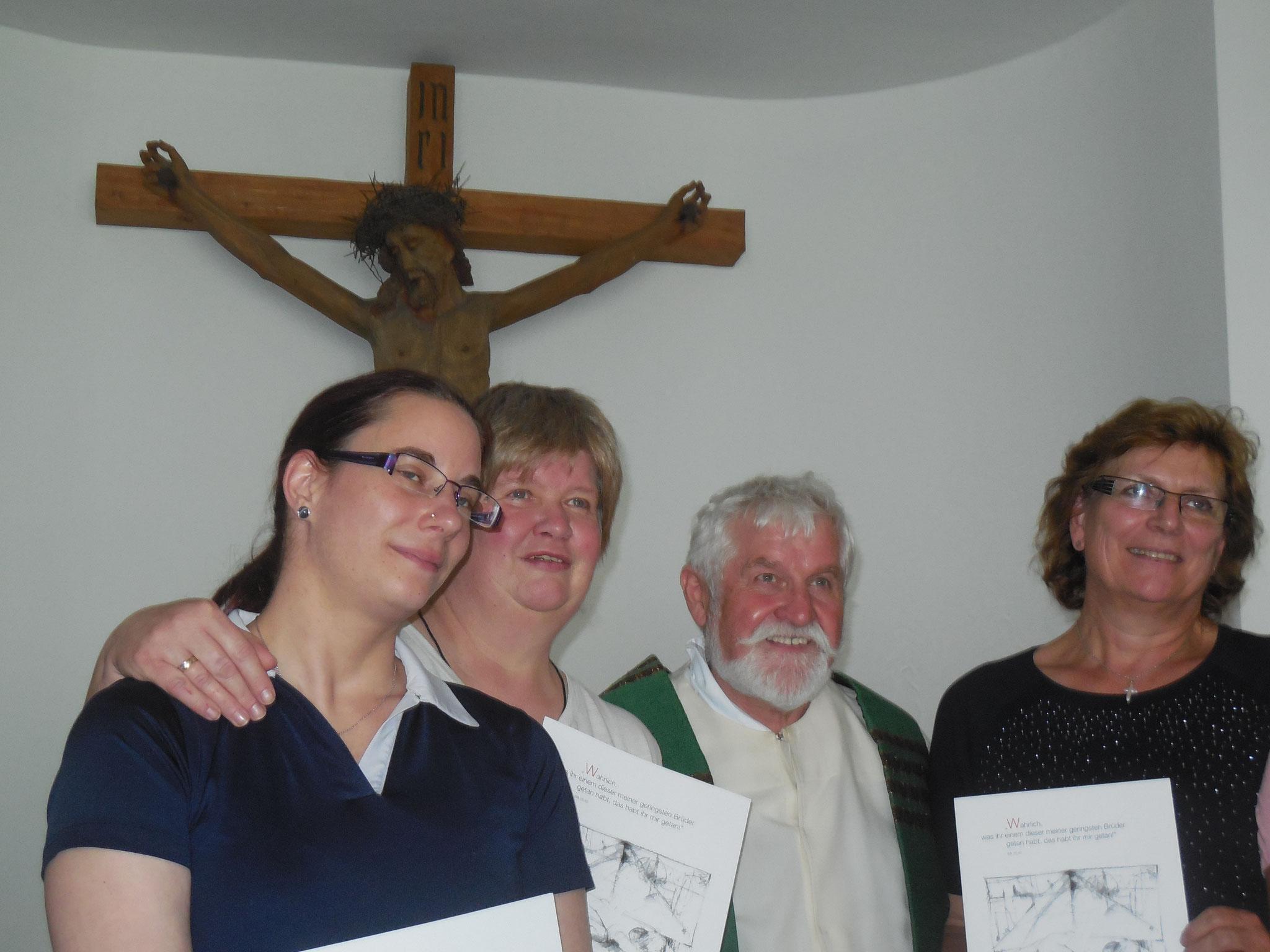 Gottesdienst mit Caritasdirektor Franz Mattes und Ernennung der neuen Seelsorgsbeauftragten