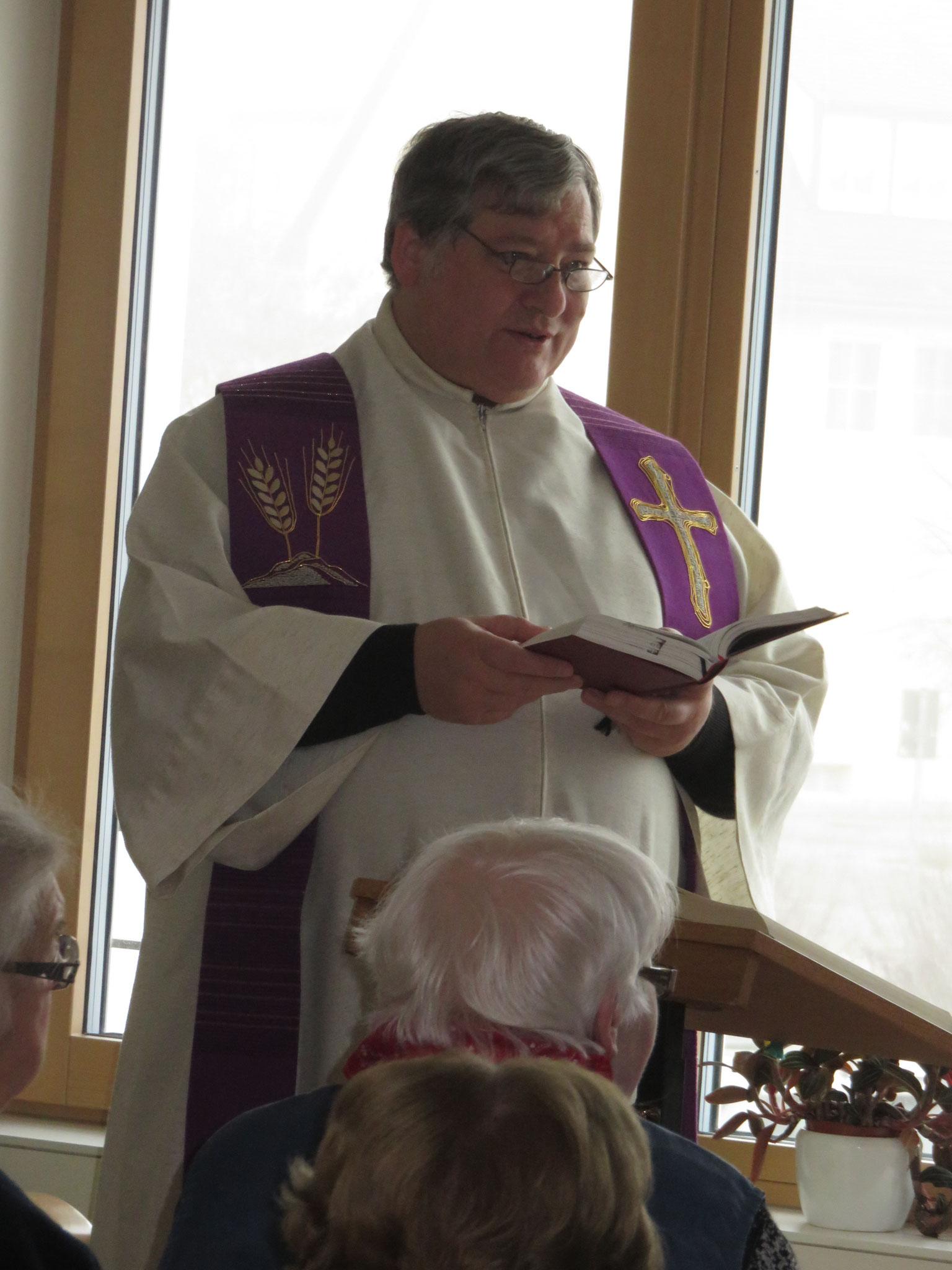 Josef Mederer, der Pfarrer von Spalt