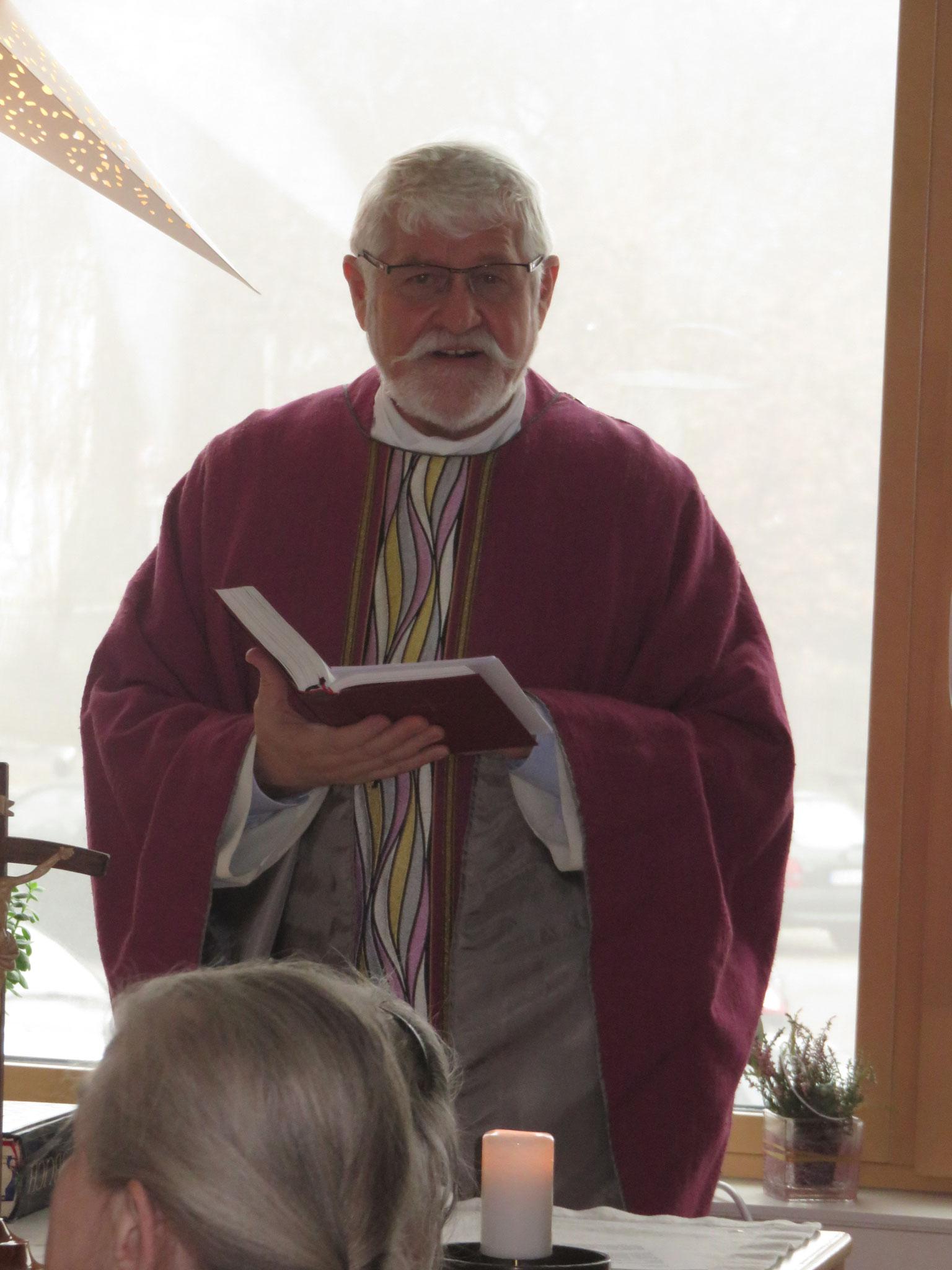 Franz Mattes, der Caritasdirektor der Diözese Eichstätt