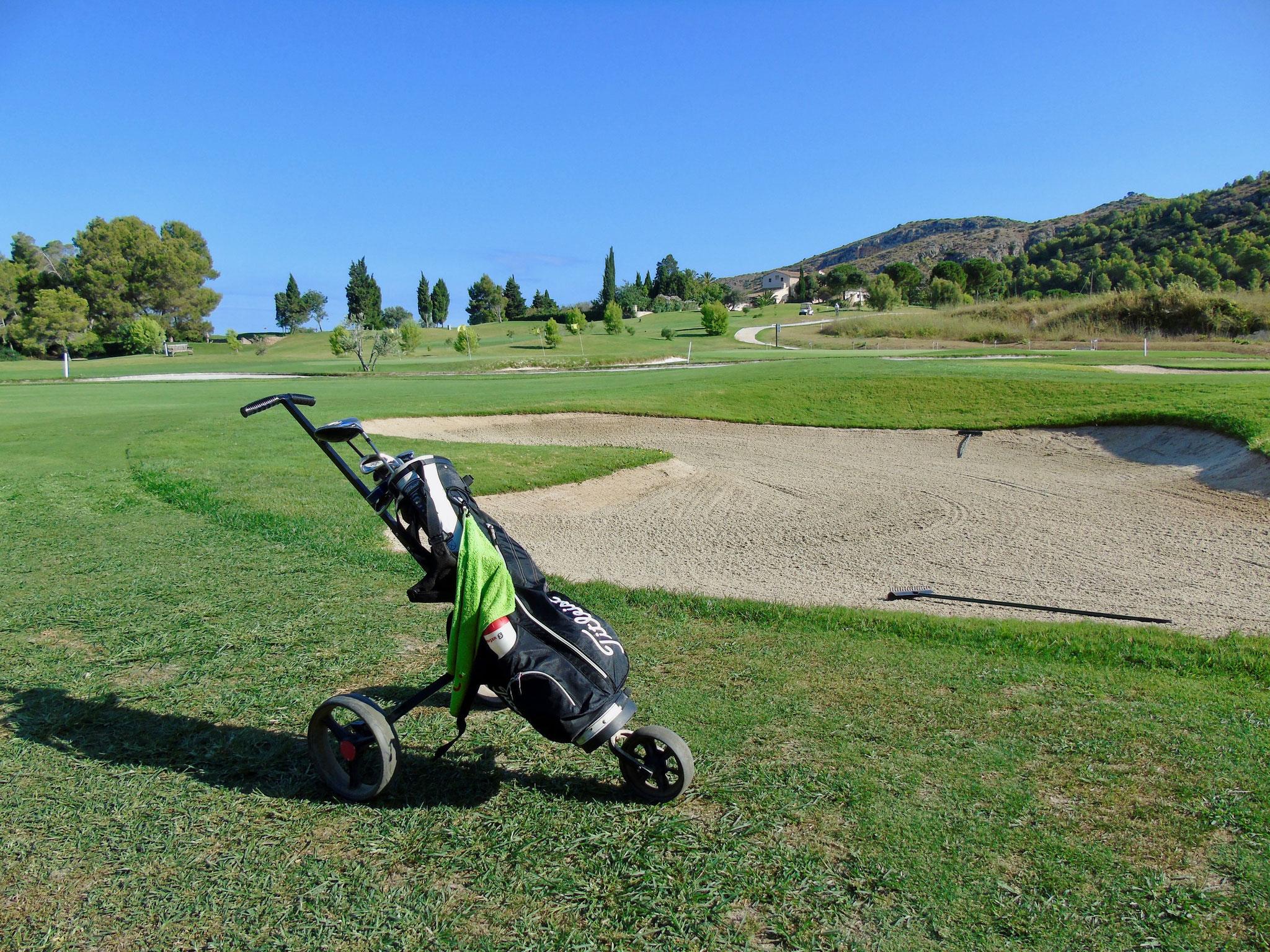 Die Region bietet 4 tolle Golfplätze