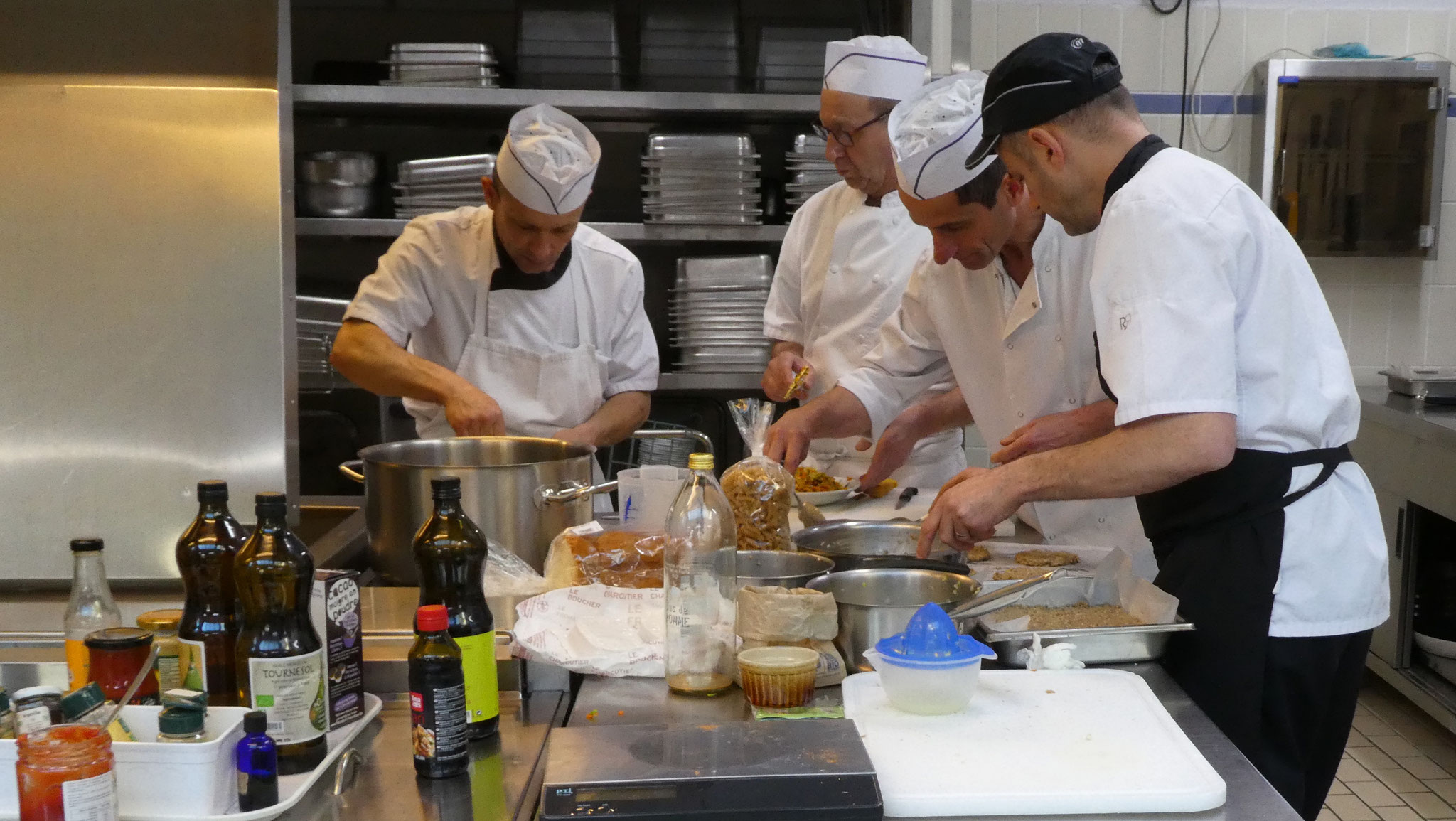 Formation cuisiniers