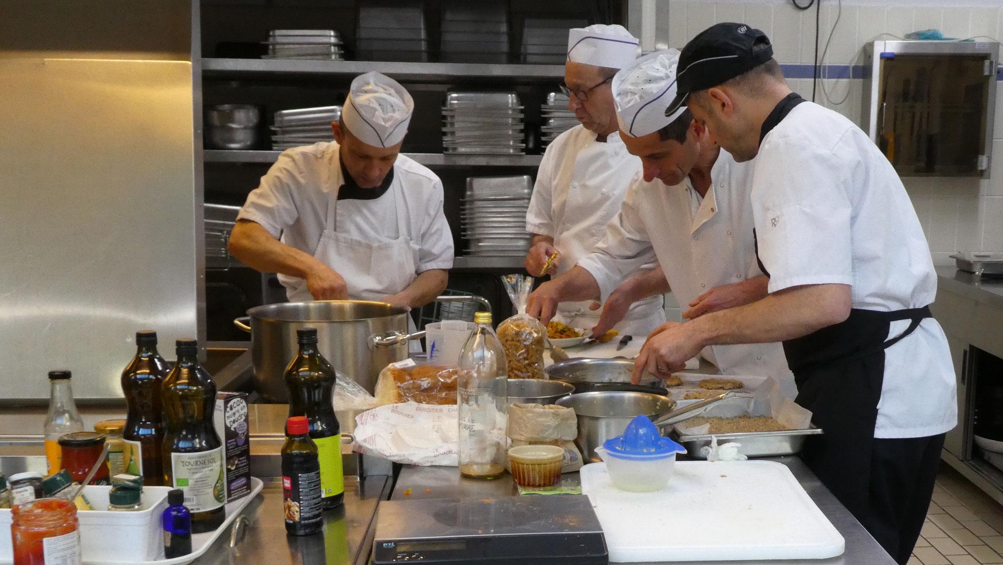 Formation de cuisiniers