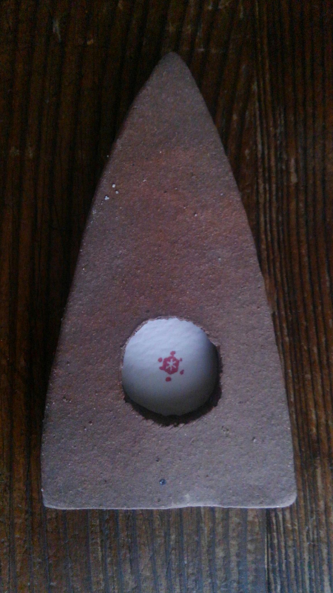 モミノ木(雪結晶印)9.5×5.0cm