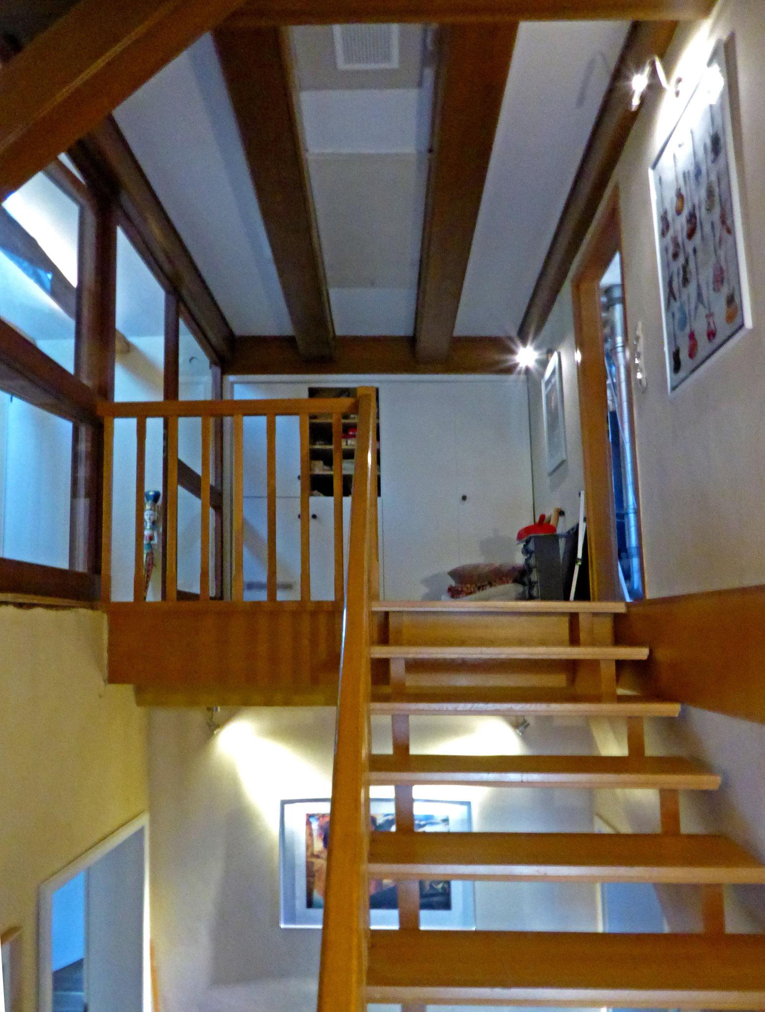 Treppe 2. Etage