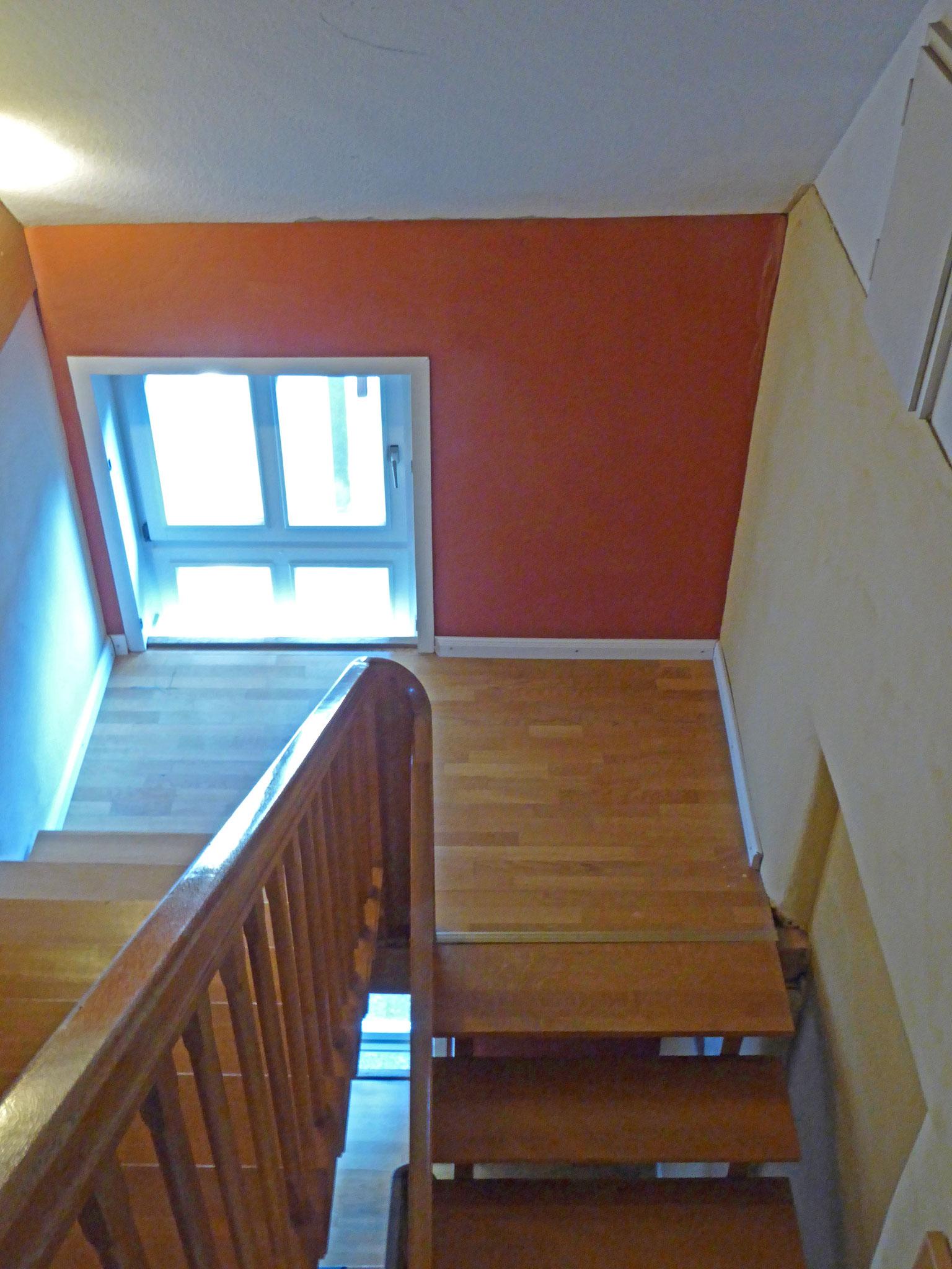 Treppe 1. Etage