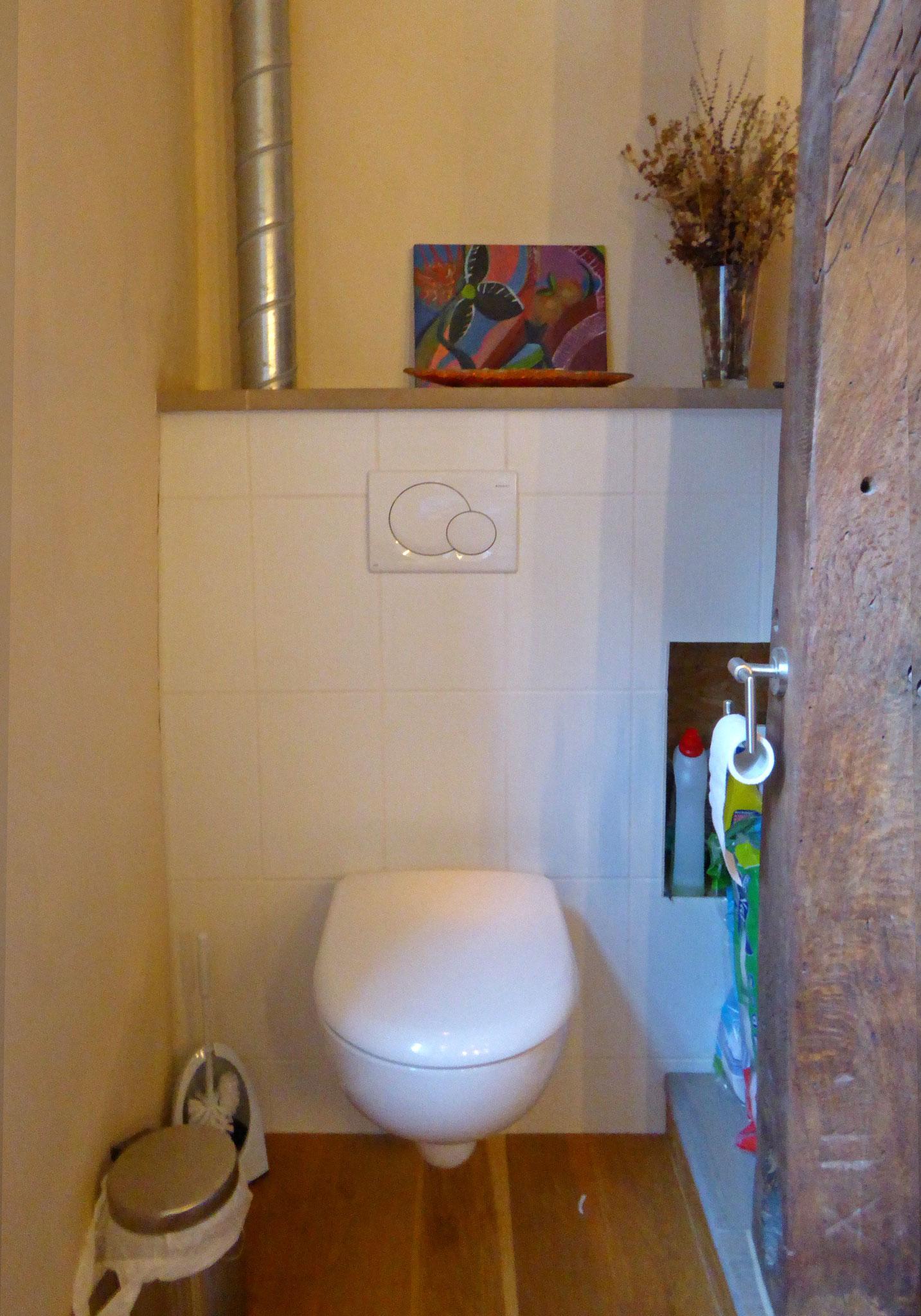 WC in Auslucht (Erker)