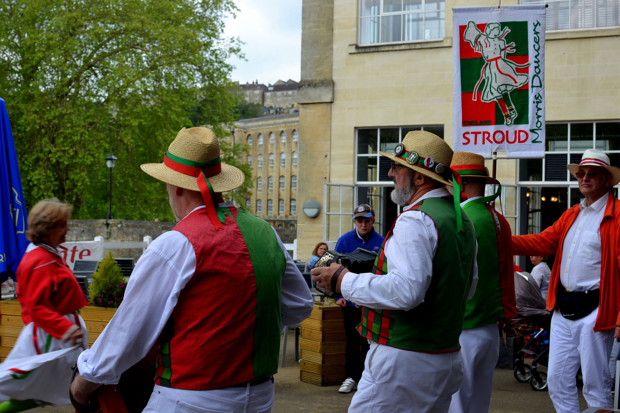 Bradford on Avon Day of Dance, 18th May 2019 (Photo: Jane Austen Dancers)