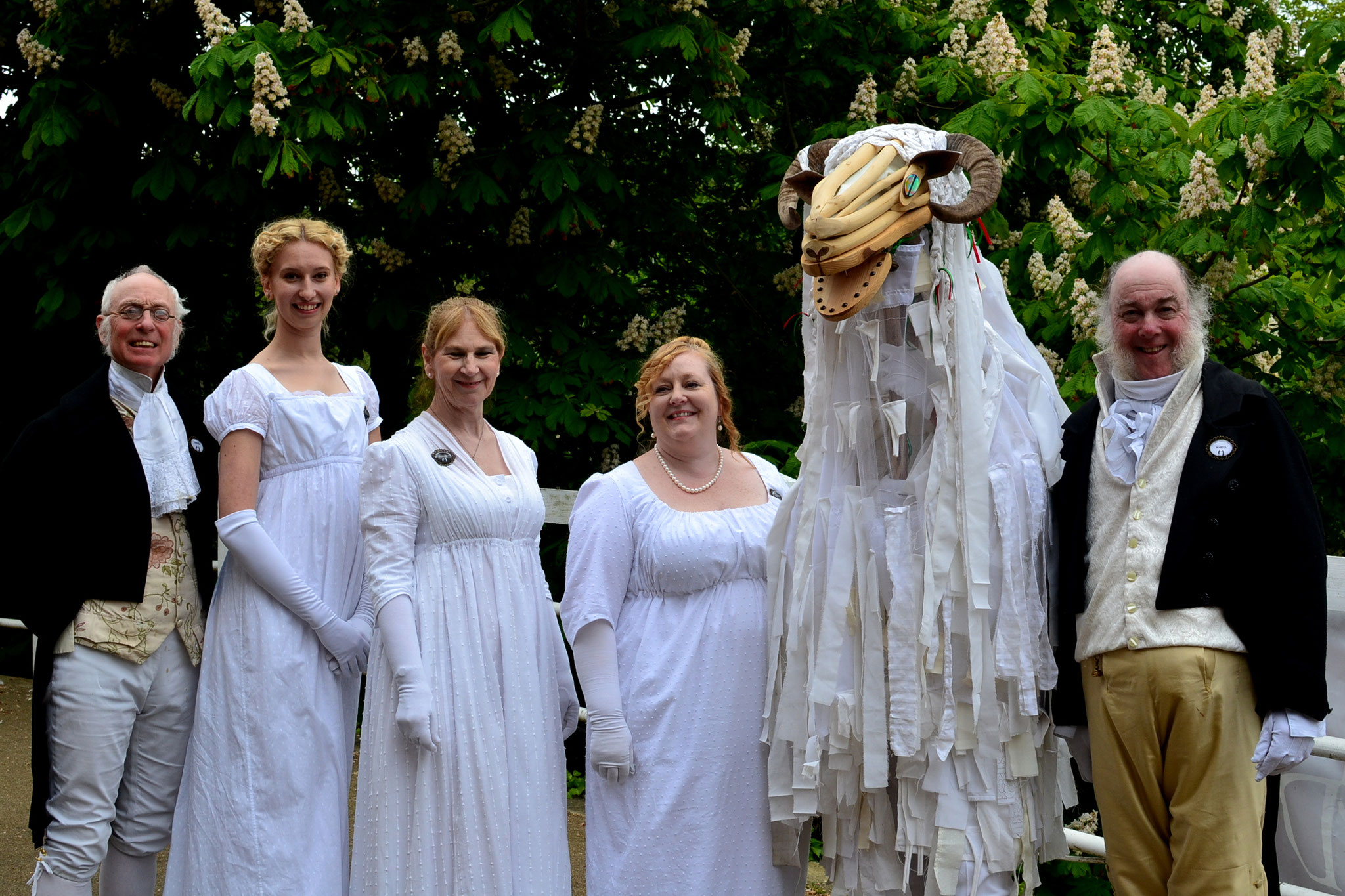 Jane Austen Dancers, Bradford on Avon Day of Dance, 18th May 2019 (Photo: Jane Austen Dancers)