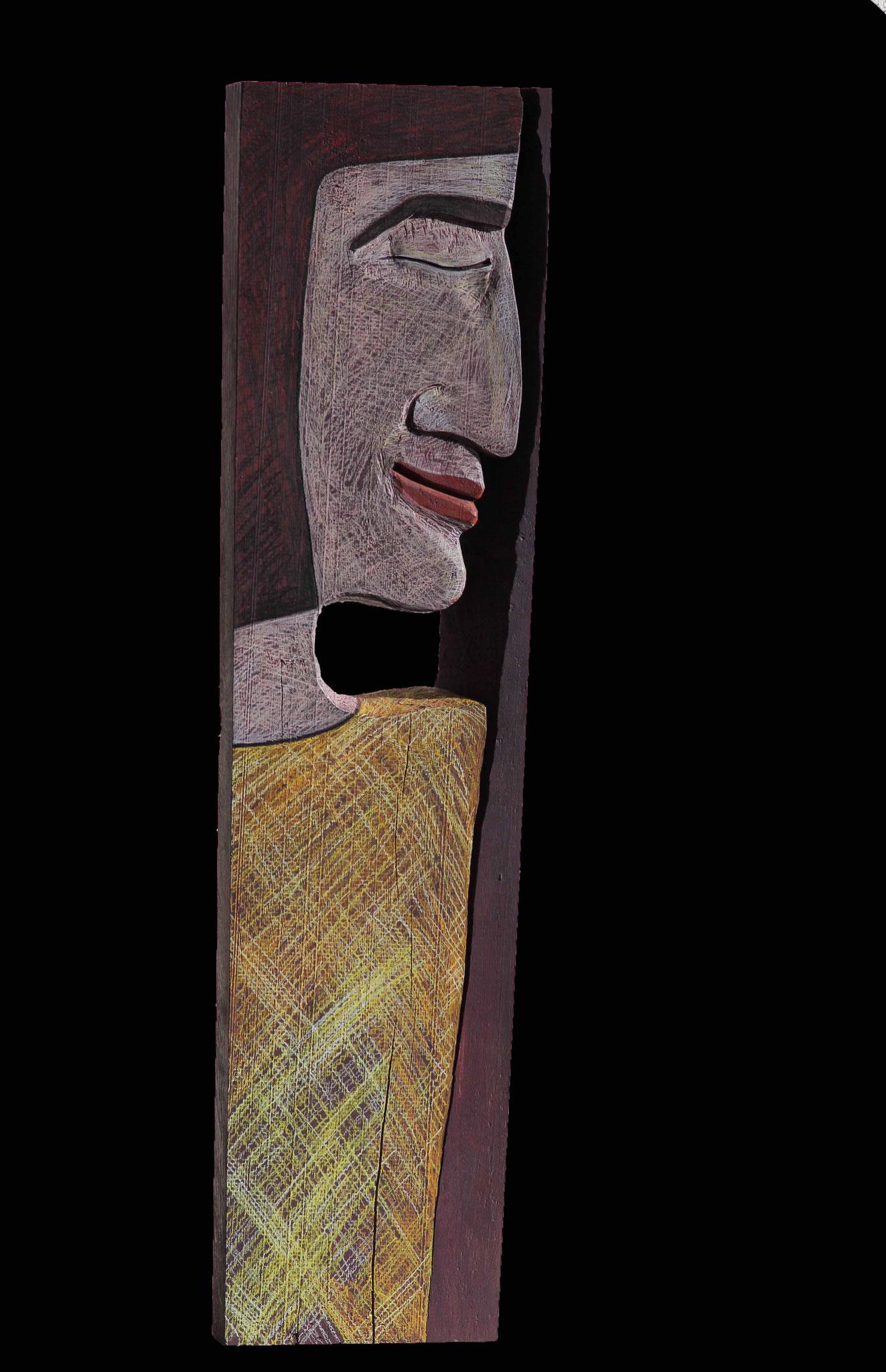 o. T.   Eiche Farbstifte 83 cm