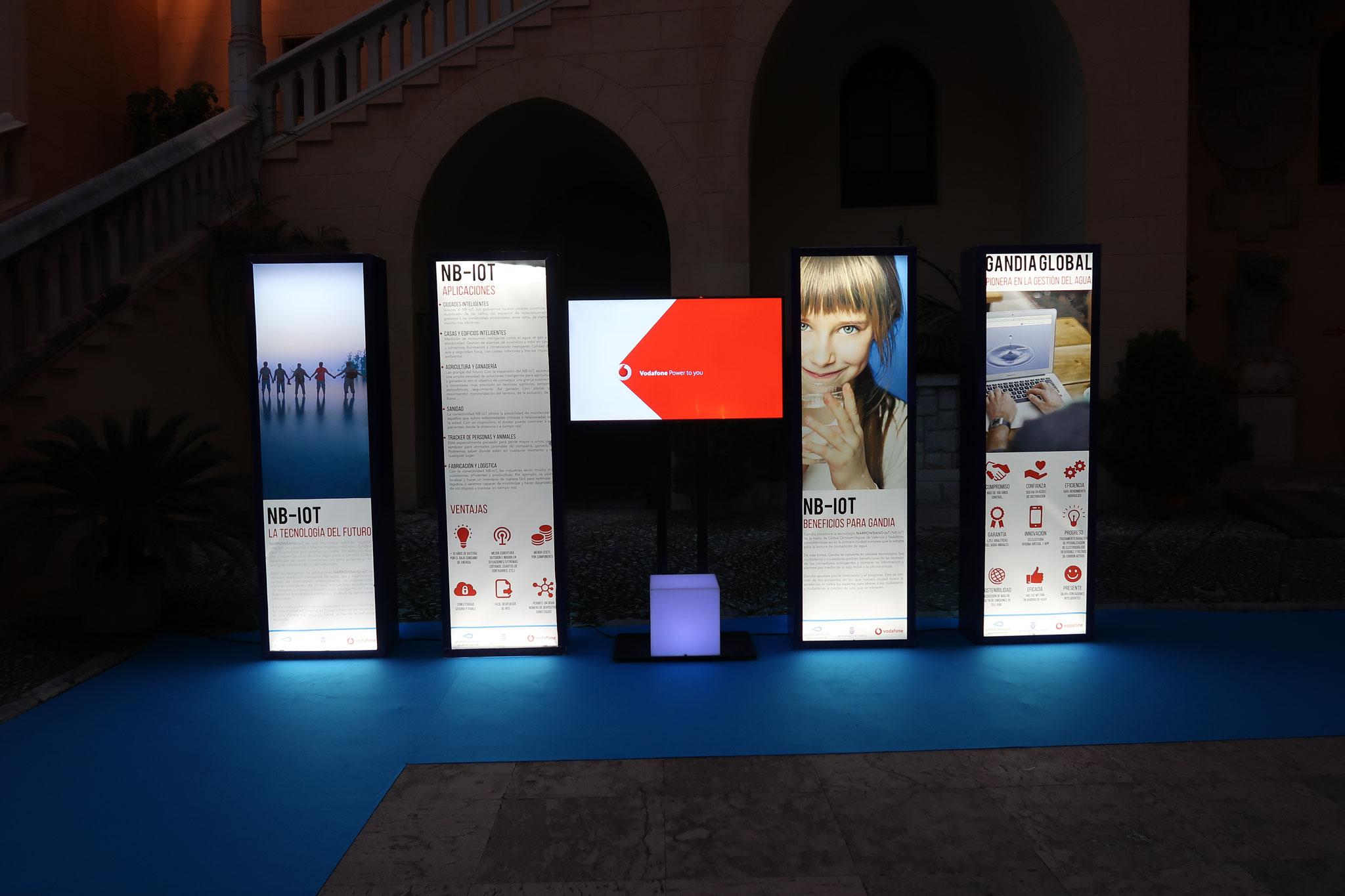 Aguas de Valencia, Vodafone