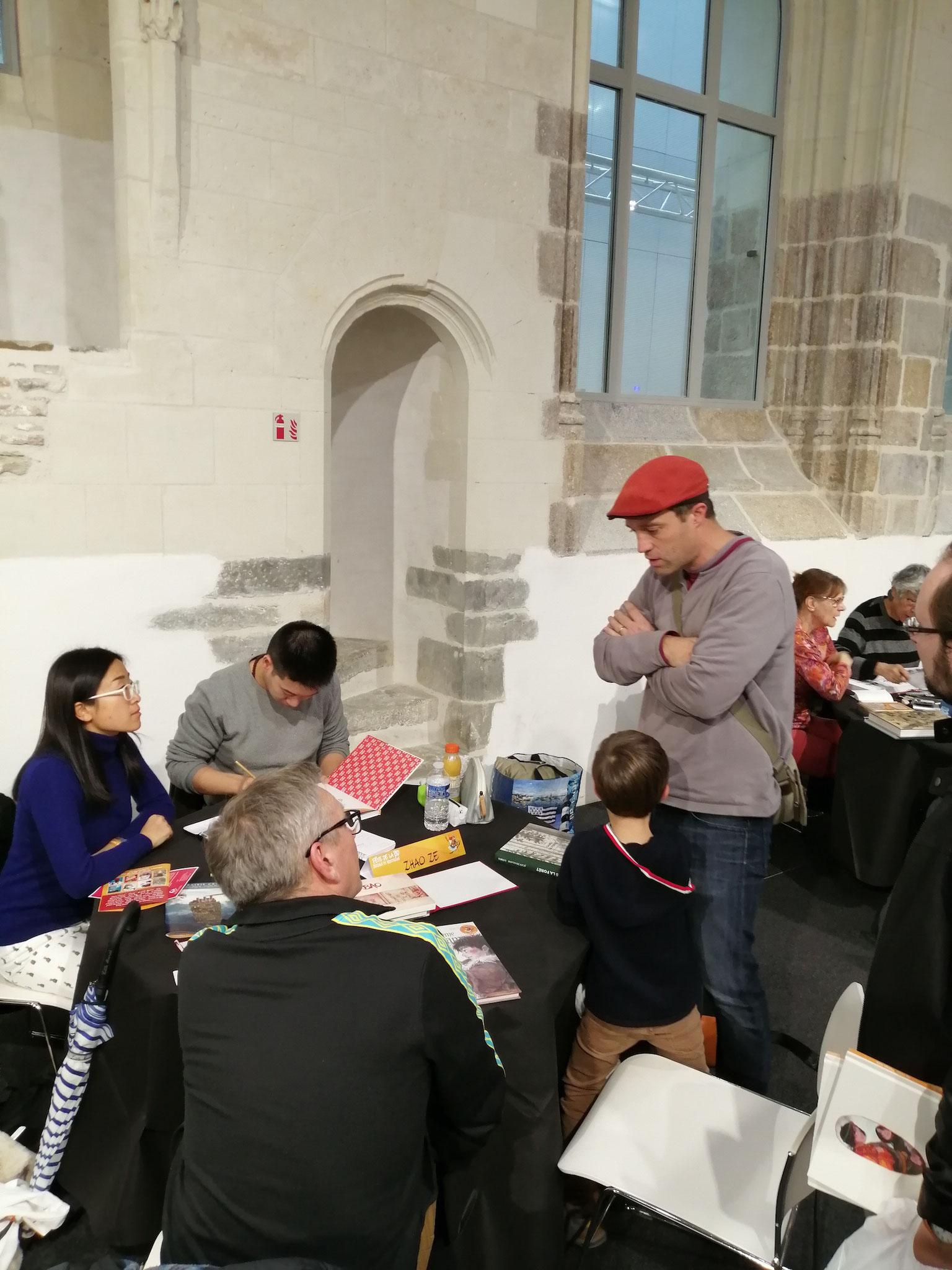 Fête de la BD social et historique avec le dessinateur chinois ZHAO Ze, Rennes