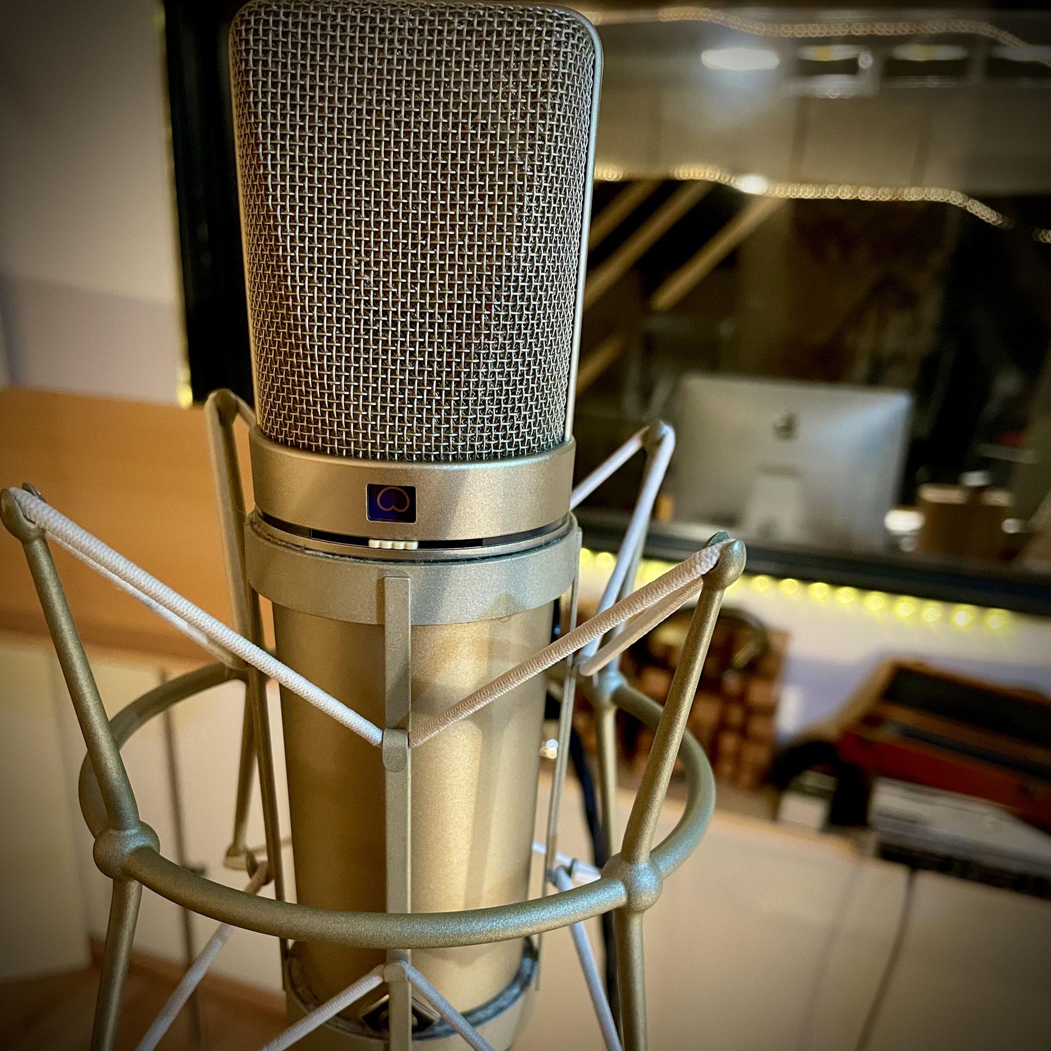 Tonstudio Hauptmikrofon Neumann U67
