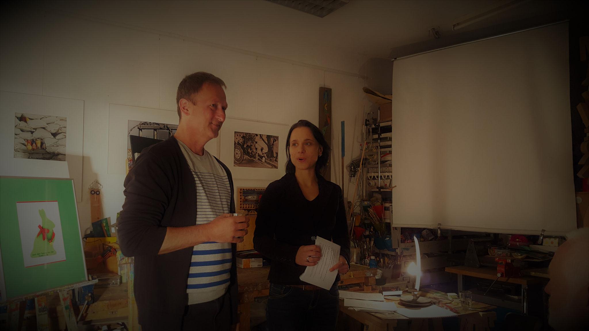 Werner Gerl und Sabine Brandl