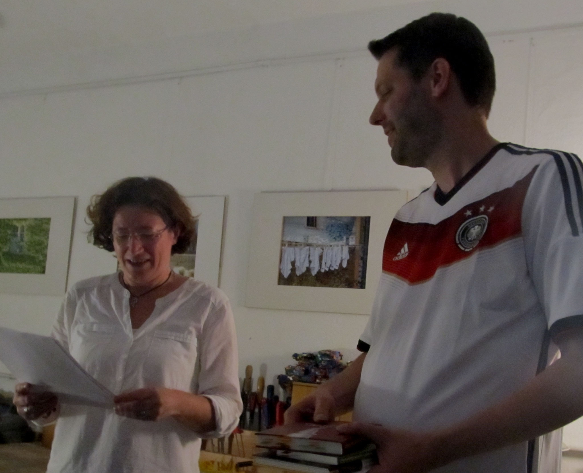 Gisela Weinhändler & Jan-Eike Hornauer