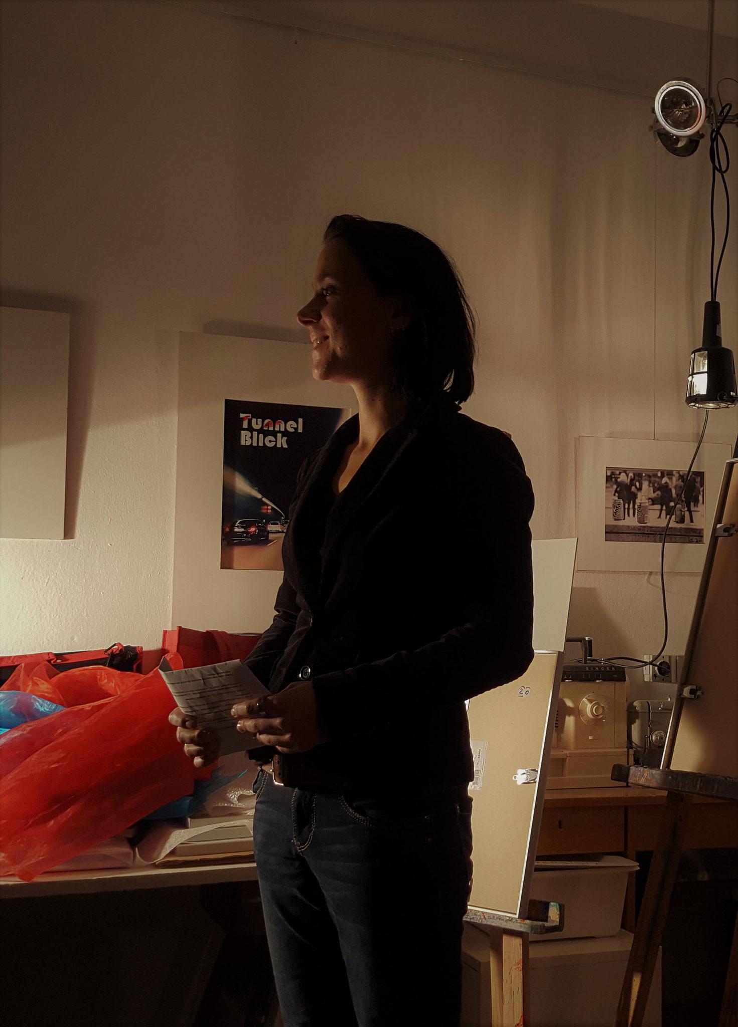Moderatorin des Abends Sabine Brandl