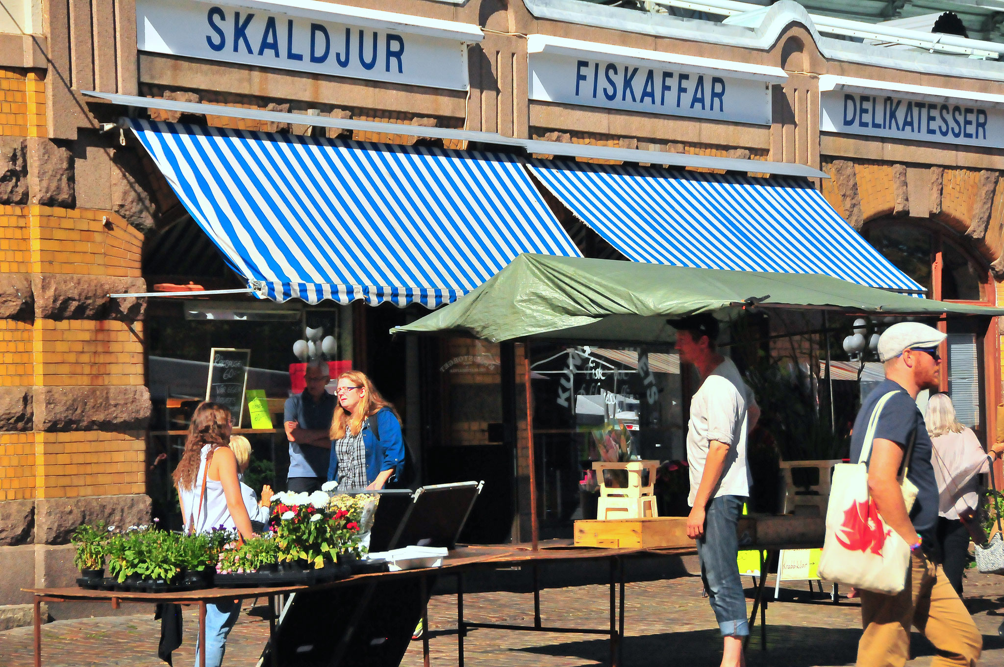 Market Scenery