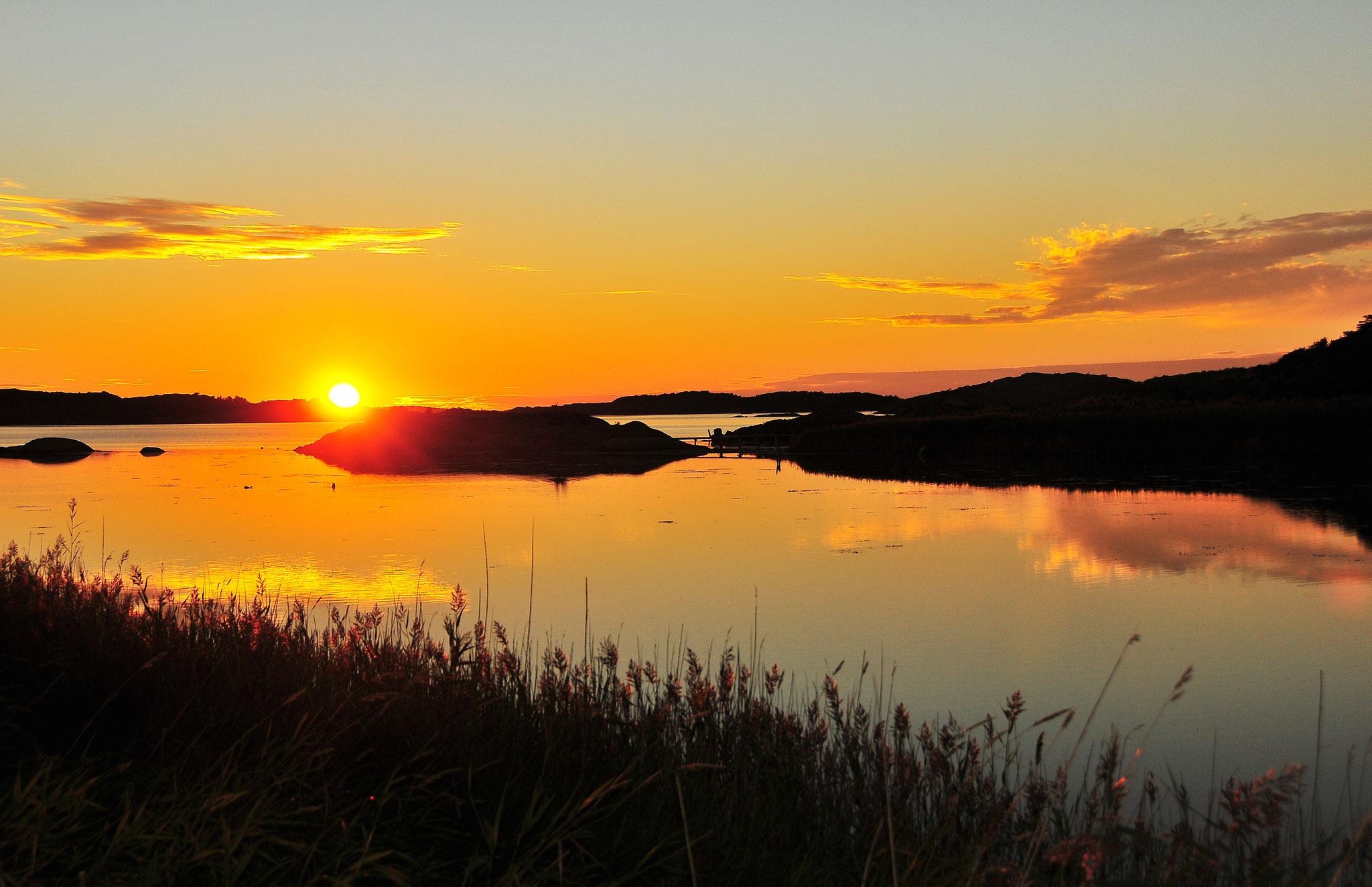 Sunset Over Billdal