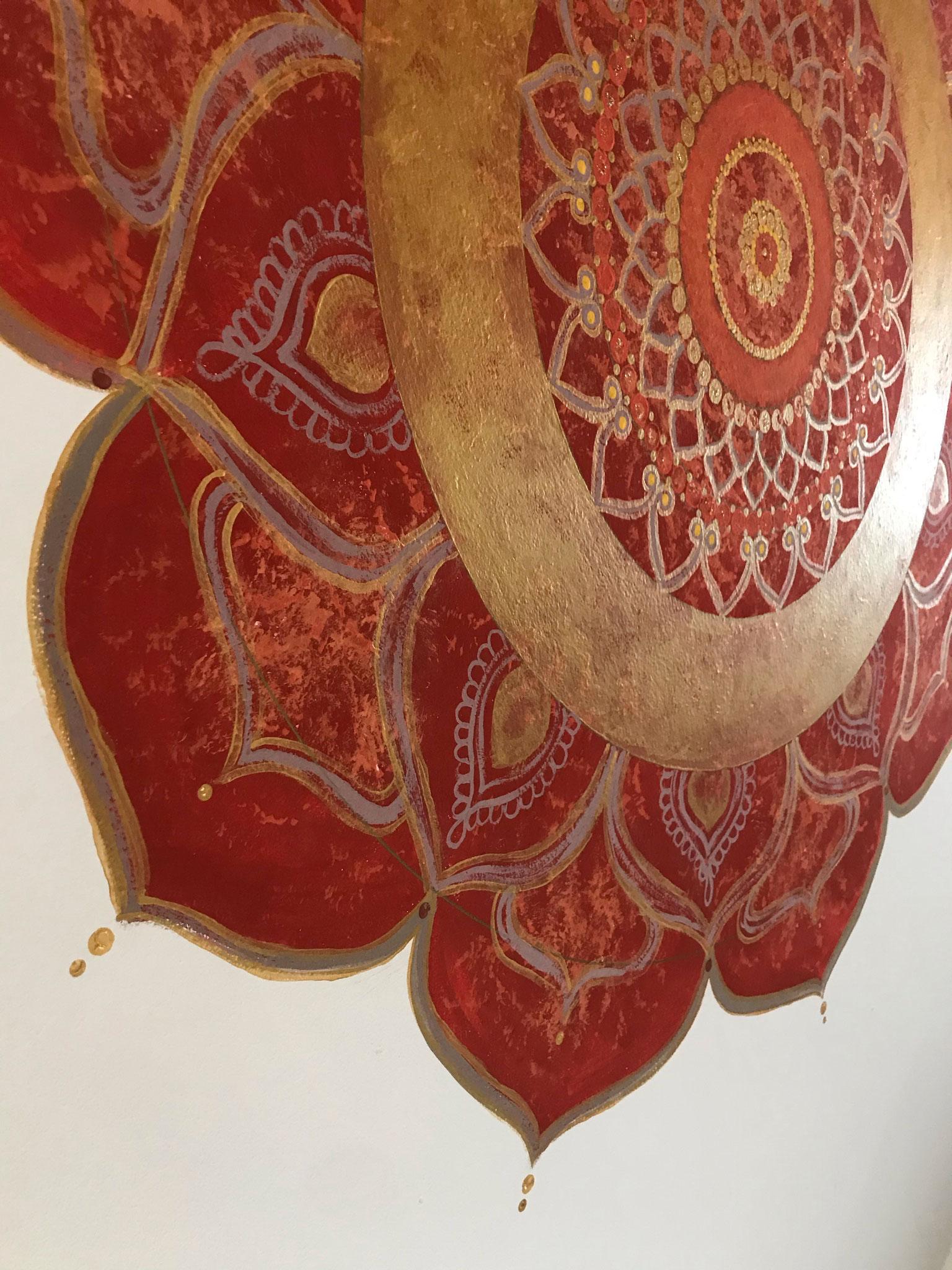 """Mandala """"Sun Lotus"""""""