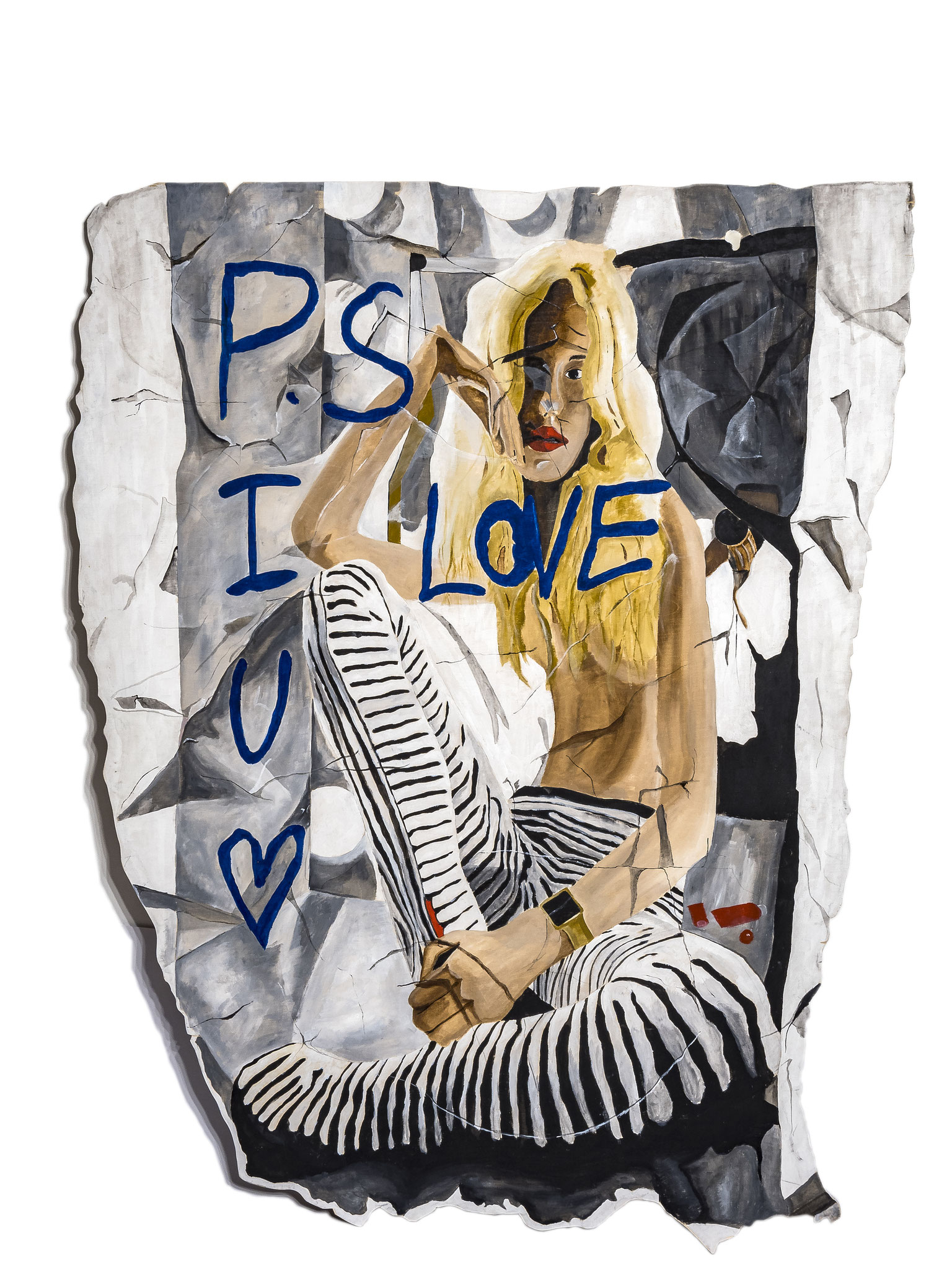 PS I Love You - 2019 - 160cm x 110cm - SOLD