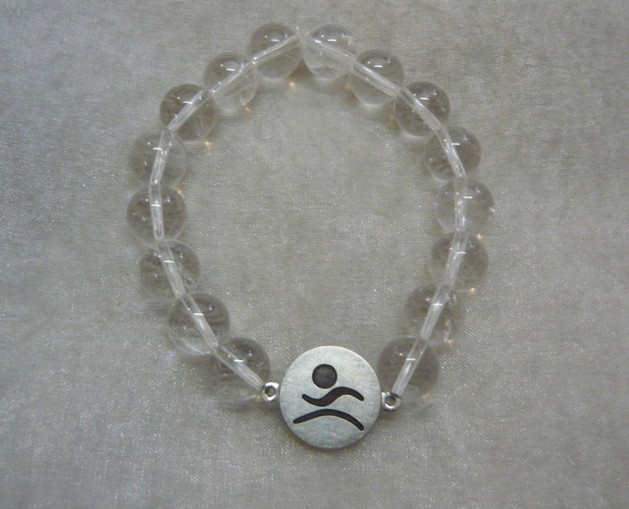 Florianer-Edelsteinarmband 925/000 Sterling-Silber, Bergkristall € 60,-