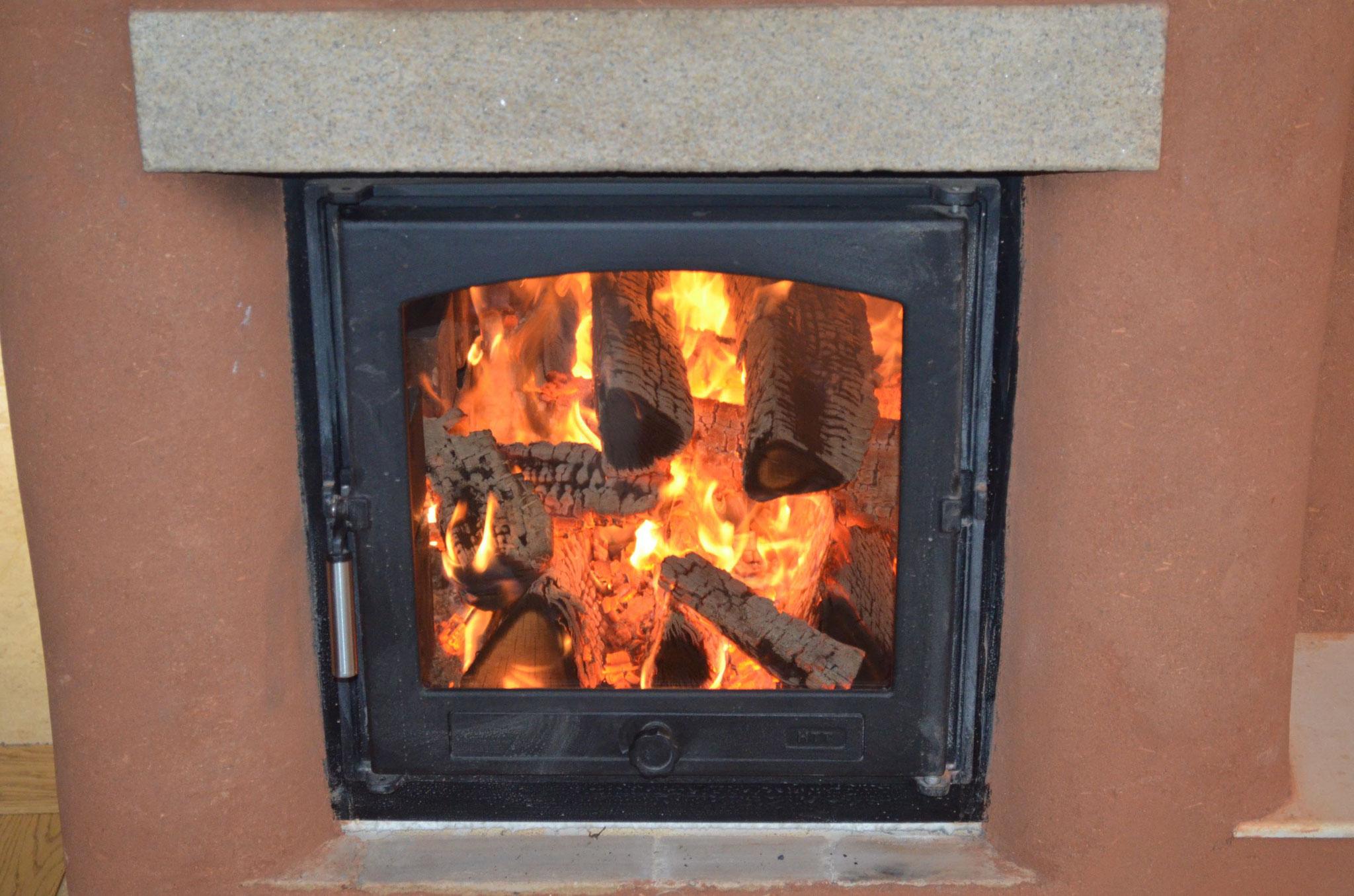 Allumage du feu par le haut / Flambée vive