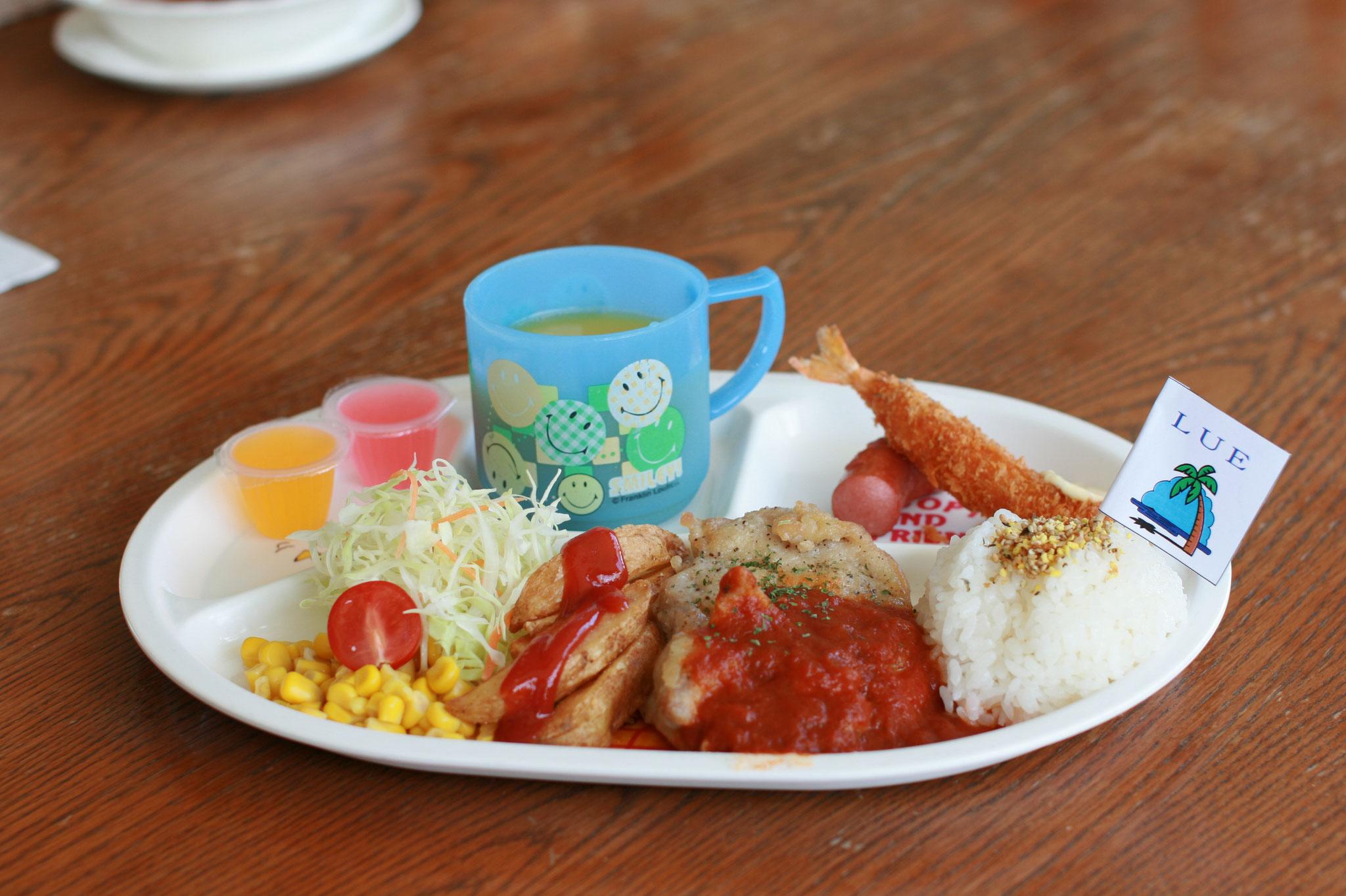 お子さまディナー チキン ¥660