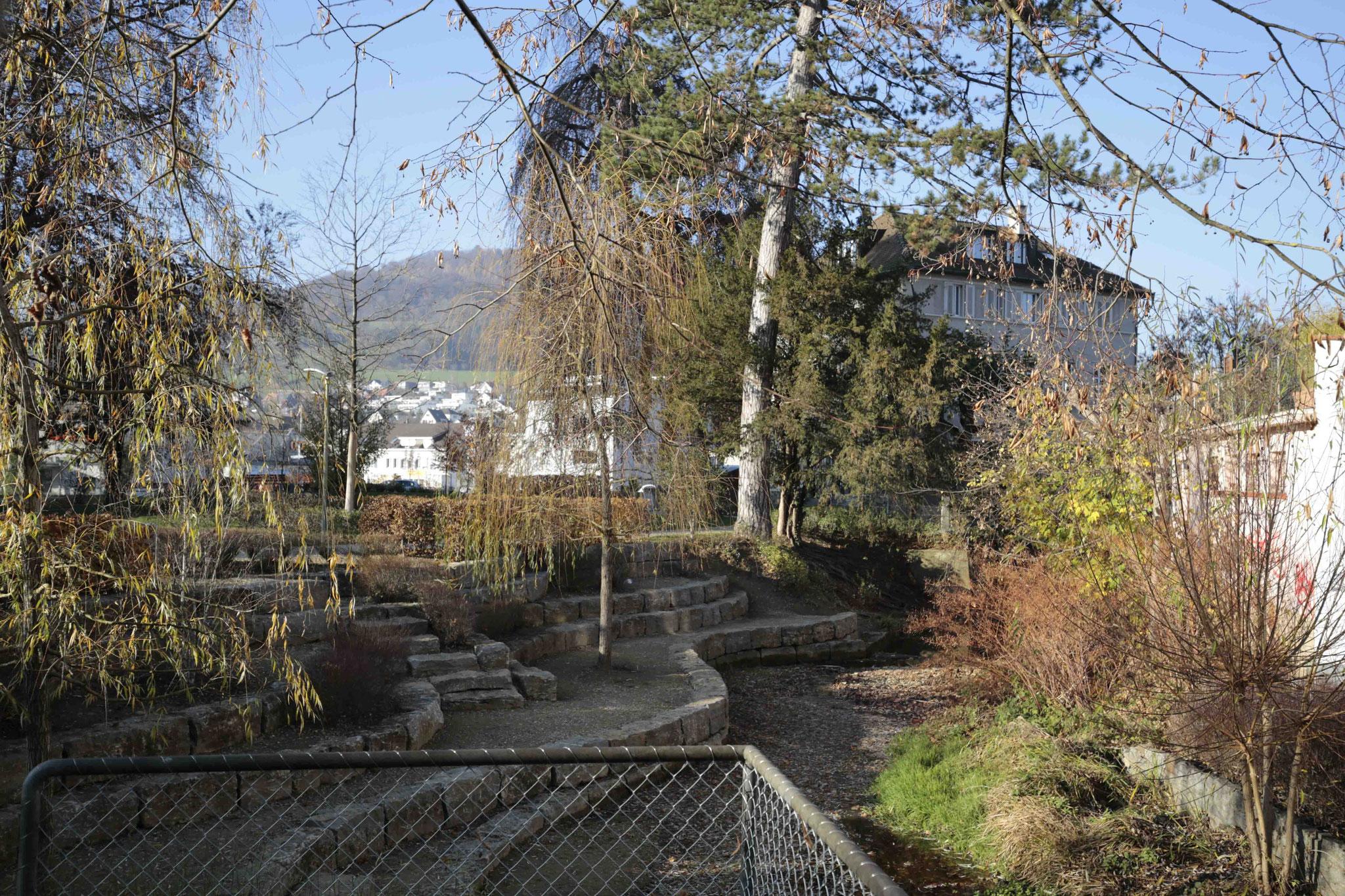 Vom Brüggli Richtung Lindenhof
