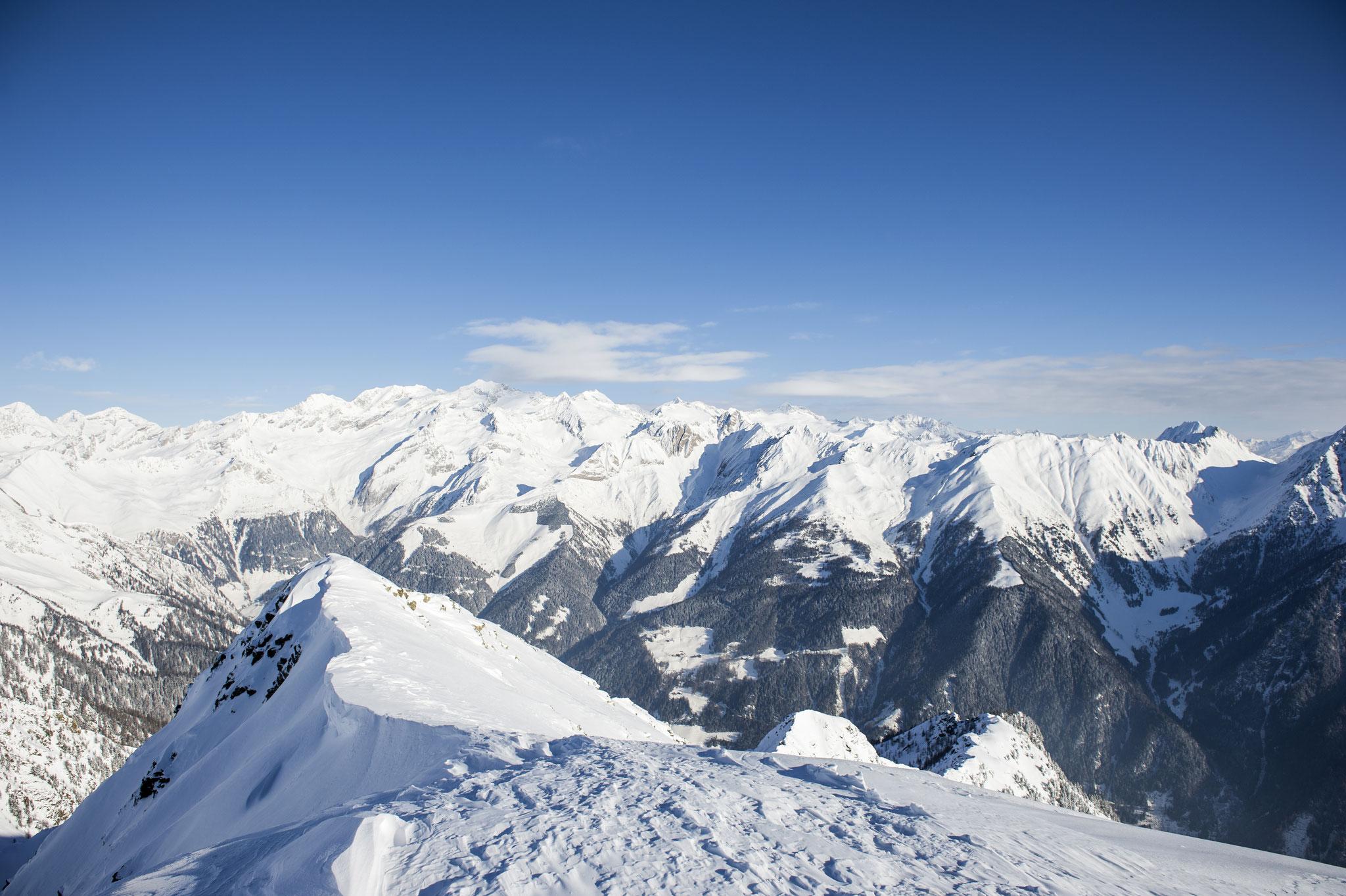 Winterberge in der Ski und Almenregion Gitschberg Jochtal