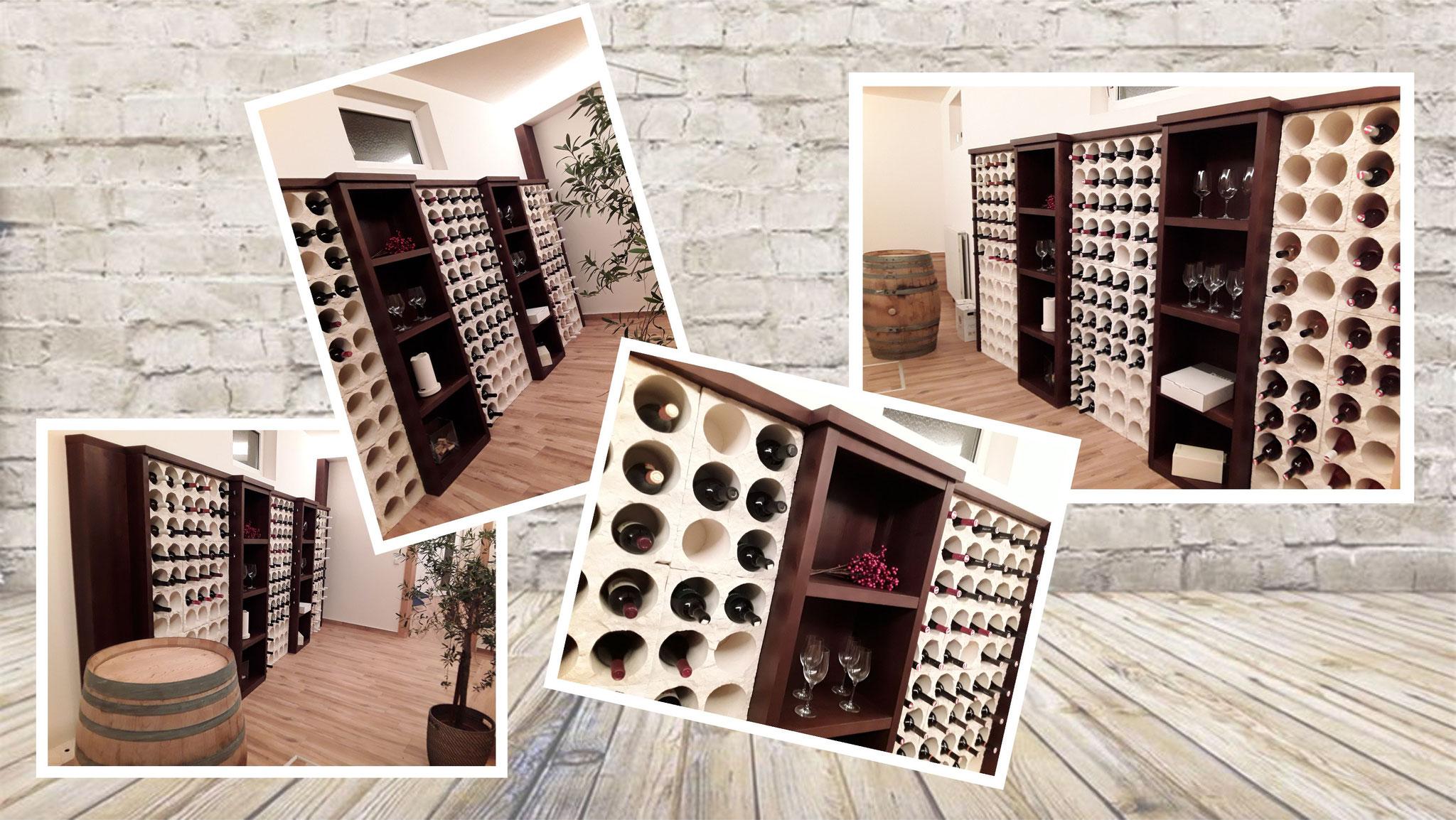 Weinlagersteine
