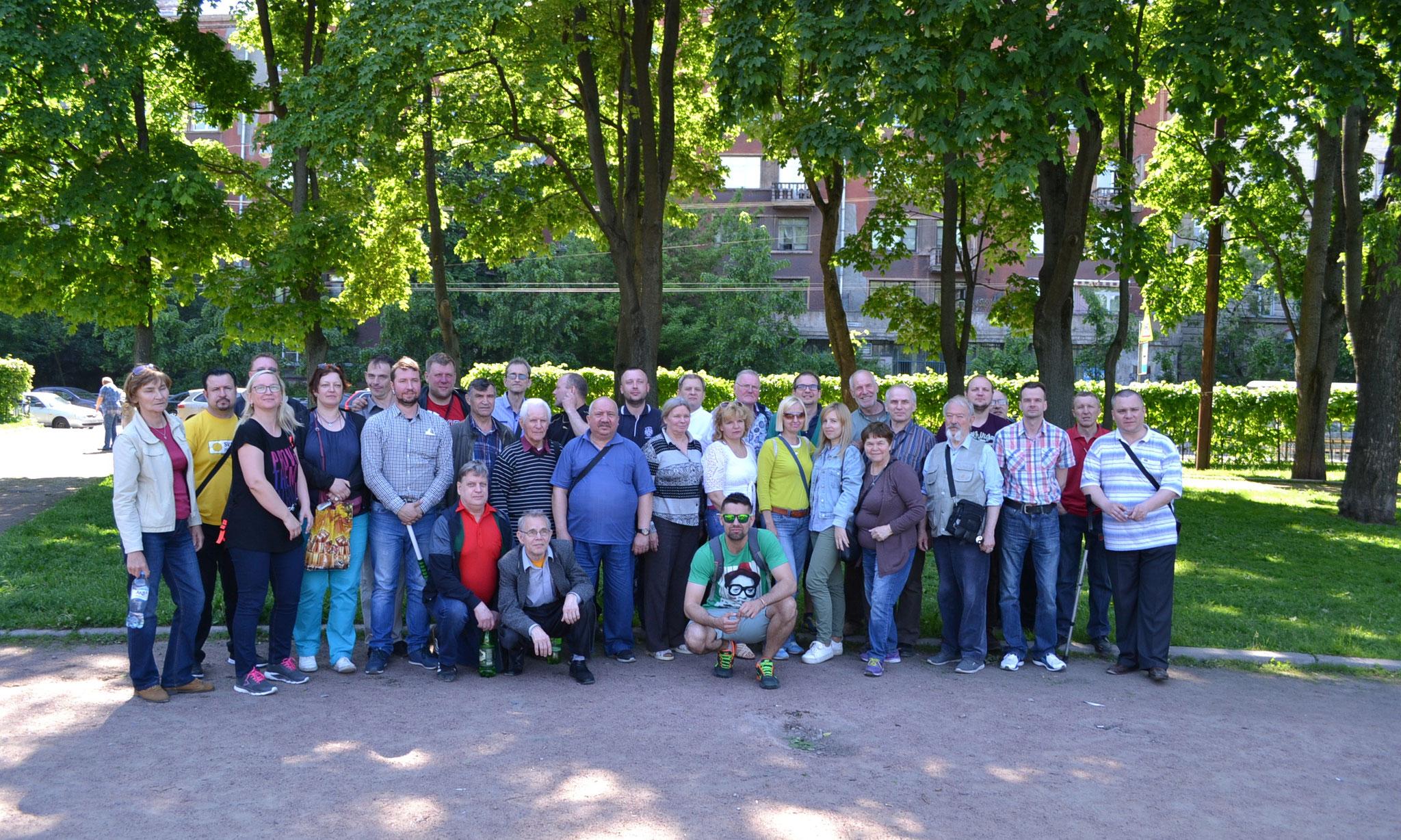 Участники турнира. Общее фото на память.