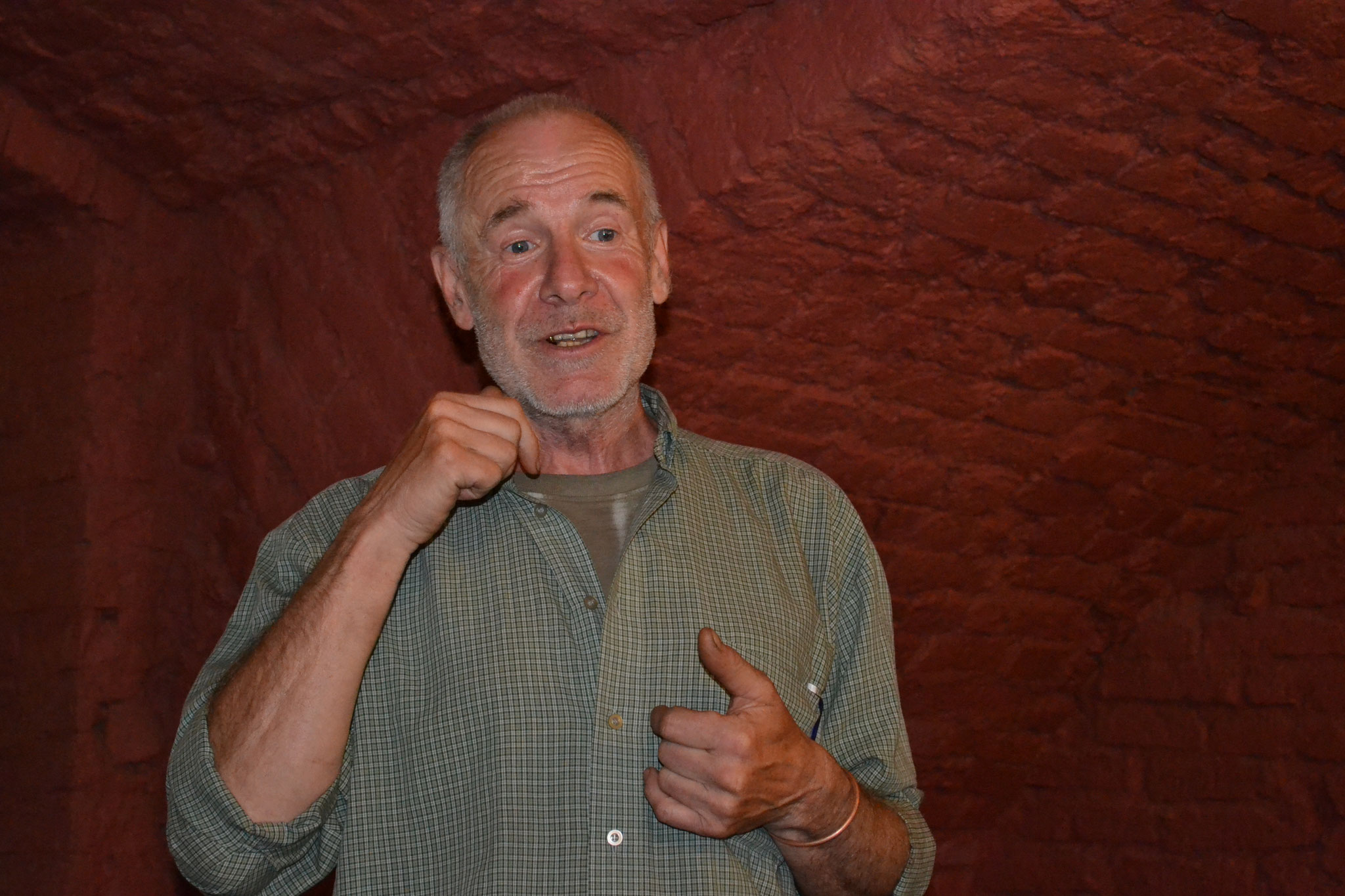 В. Кудряшов - председатель шахматного клуба в Гомеле (Беларусь)