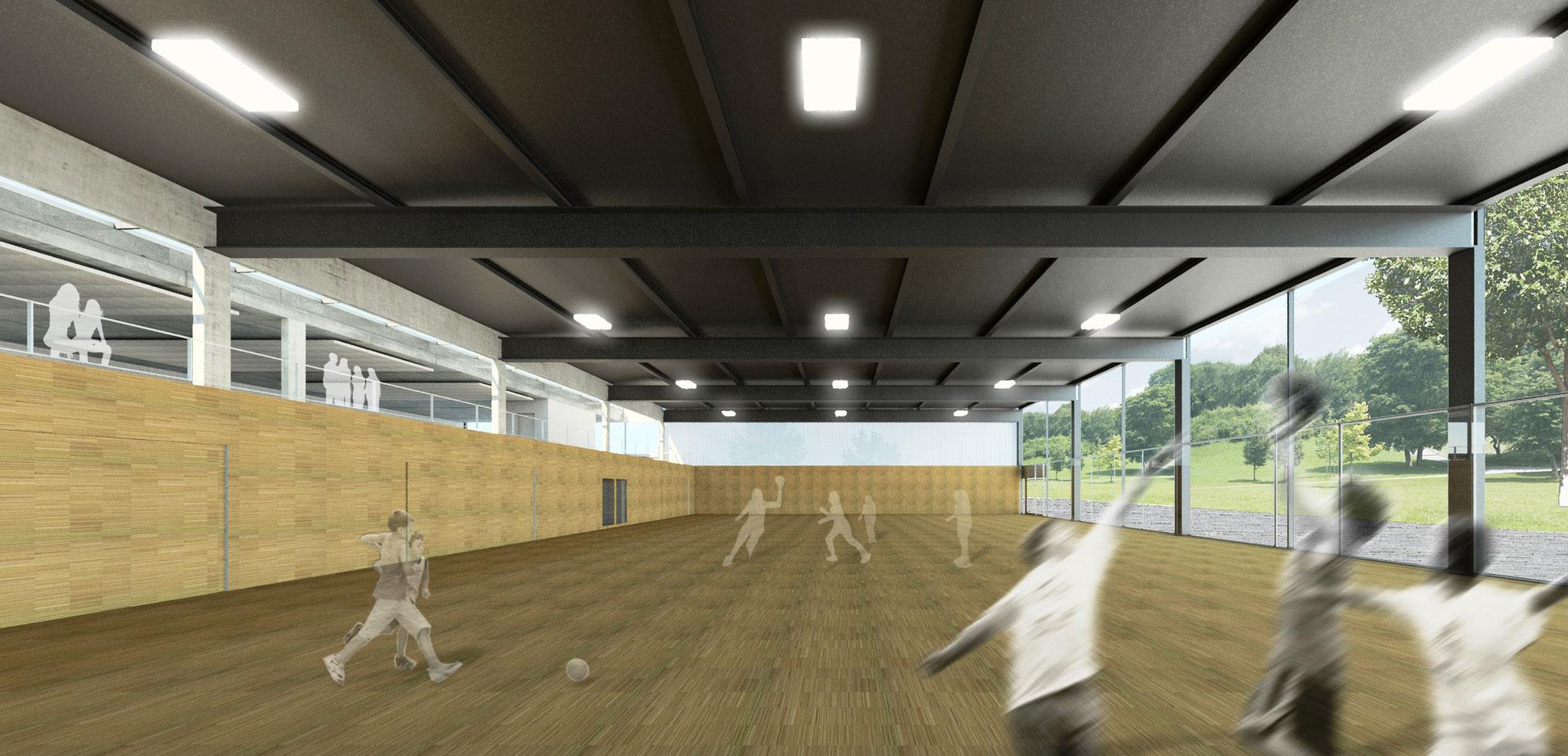 Sportzentrum - Mehrzweckhalle