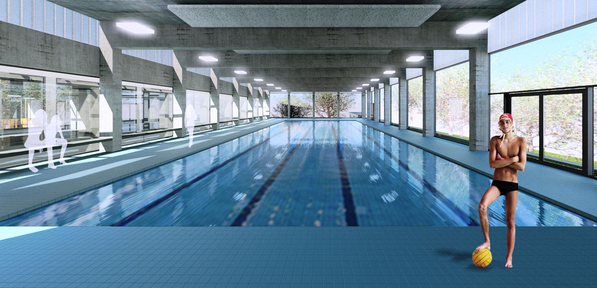 Sportzentrum Berg - Schwimmhalle