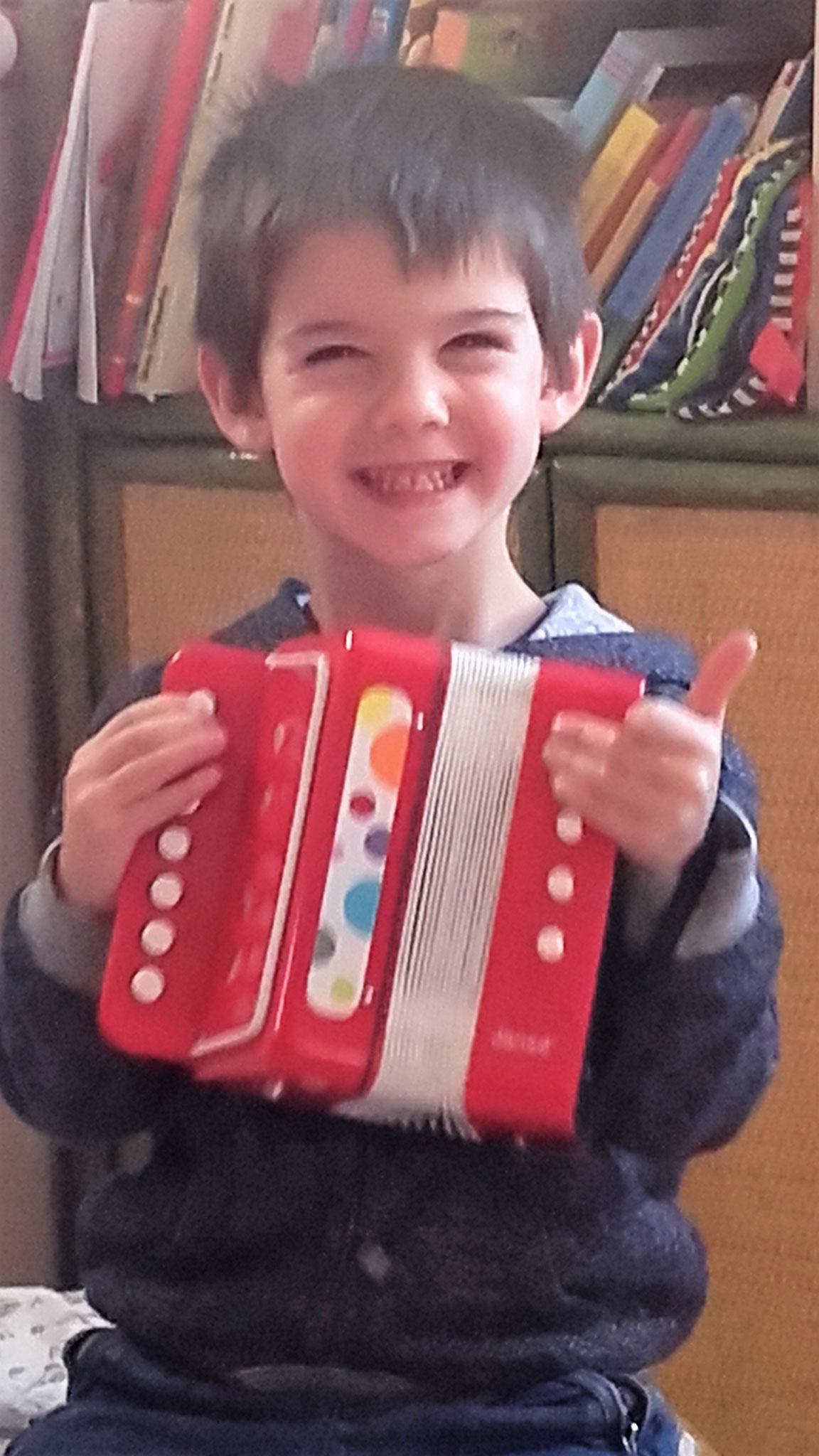 Découverte de l'accordéon