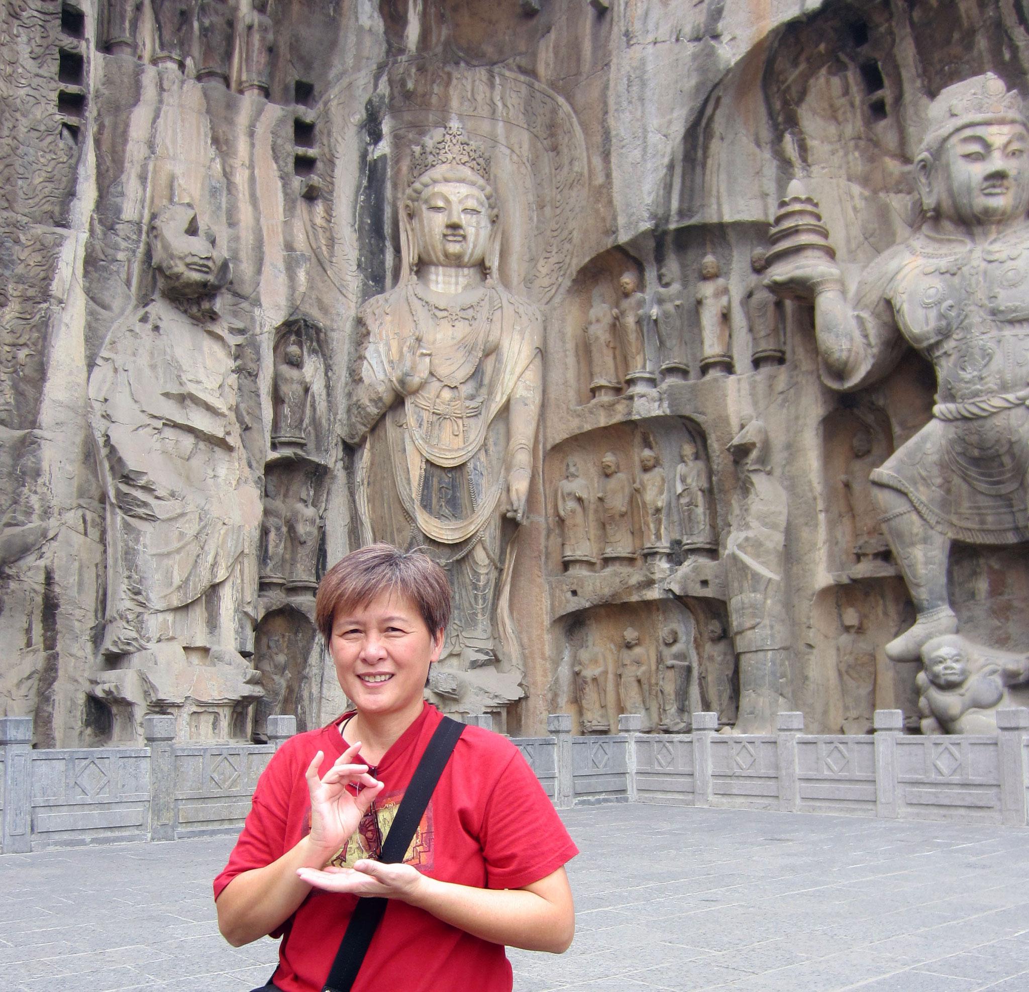 Longmen Grotto, China