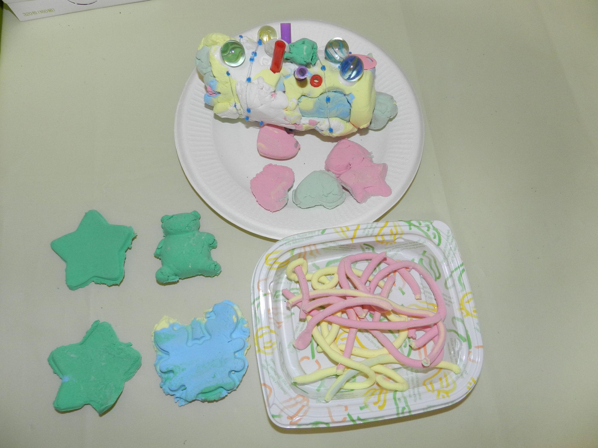 ロールケーキ&クッキー(年少さん)