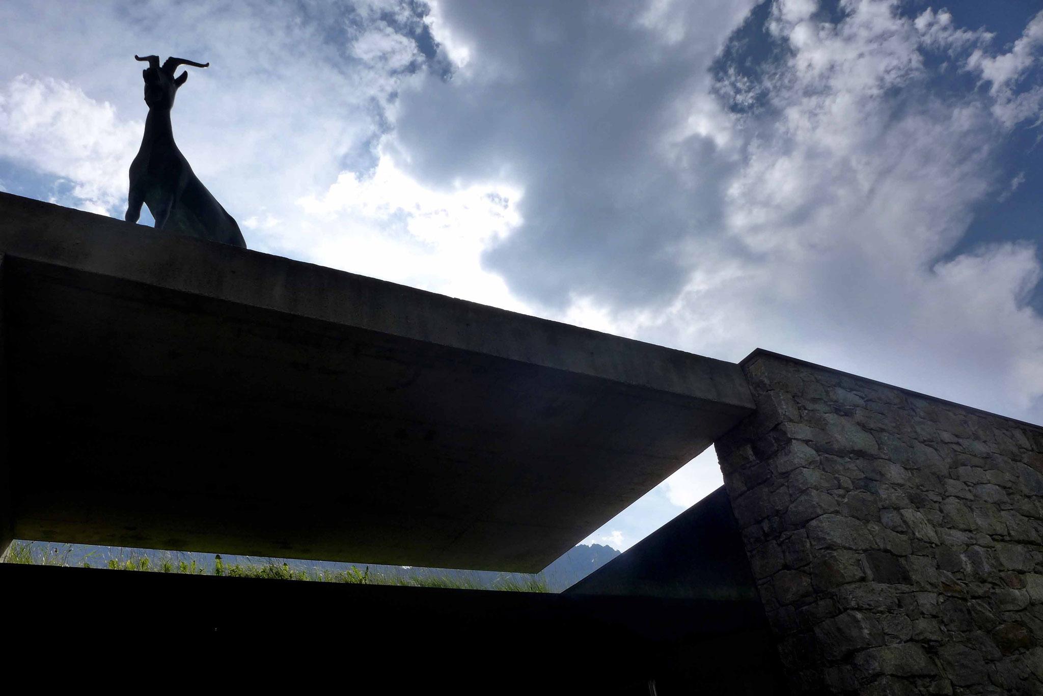 Eingang zum Messner Mountain Museum in Sulden